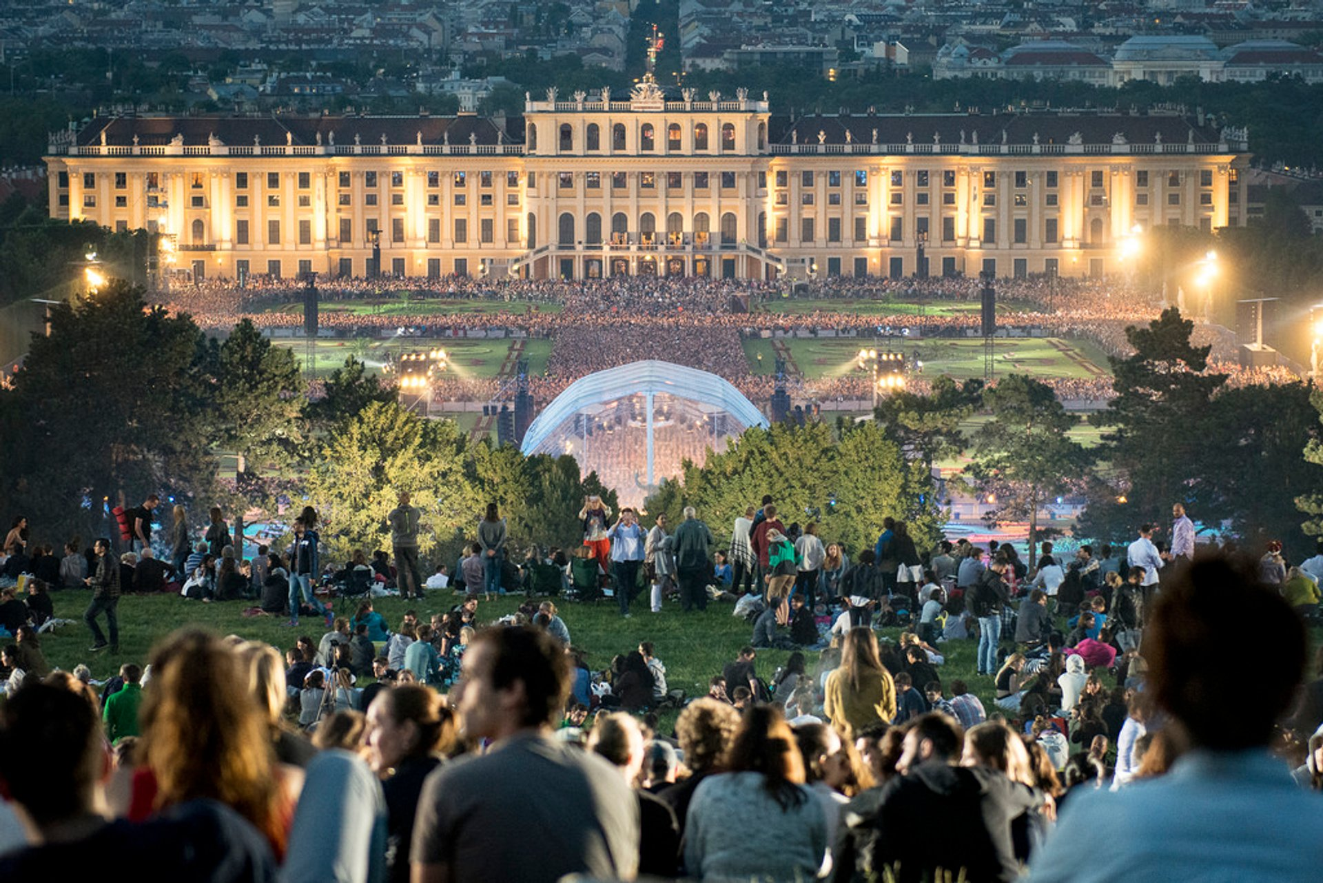 Vienna Philharmonic Summer Night Concert (Sommernachtskonzert) in Vienna 2020 - Best Time