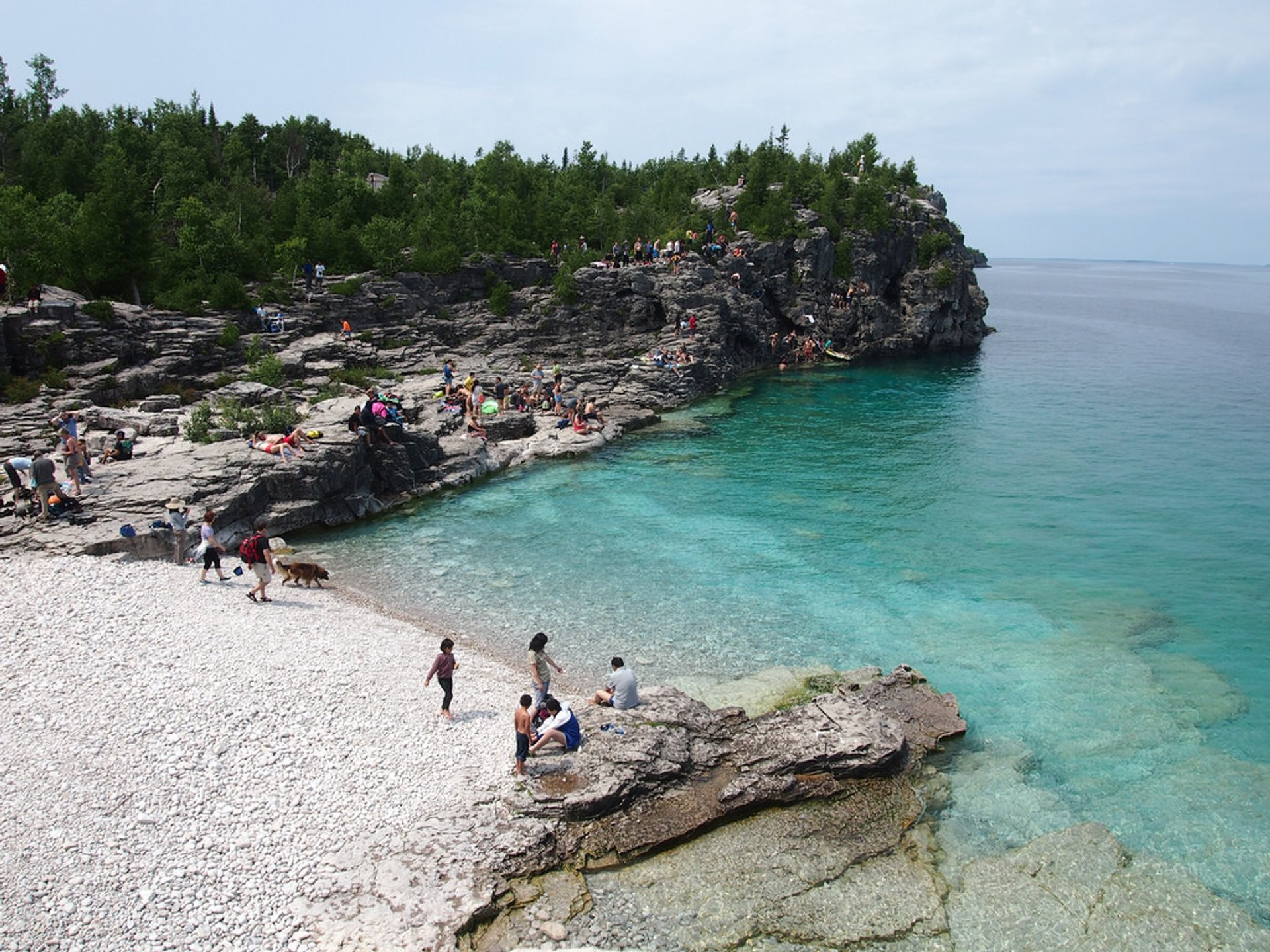 Best time for The Grotto, Bruce Peninsula National Park in Ontario 2020