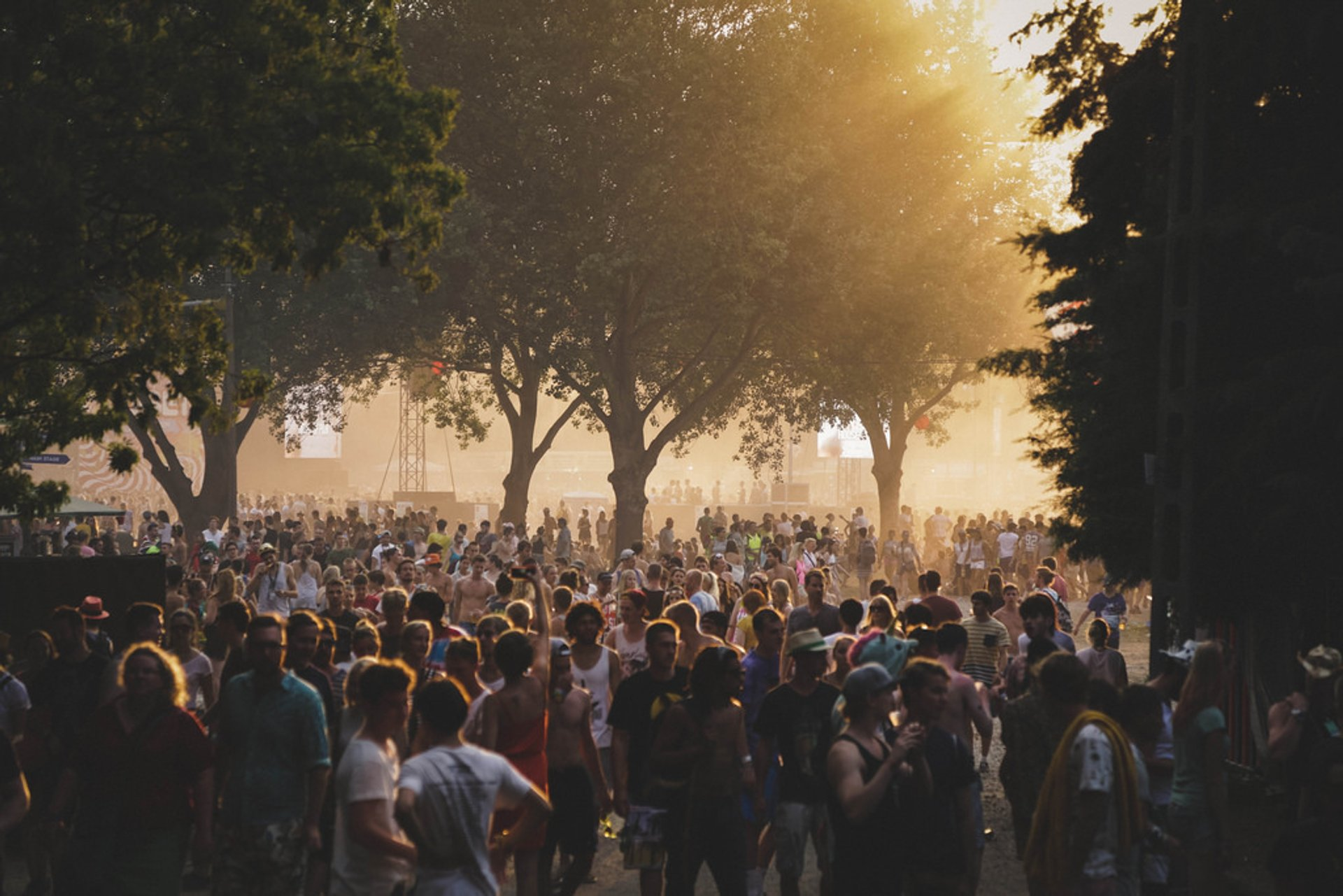 Best time for Sziget Festival in Hungary 2019
