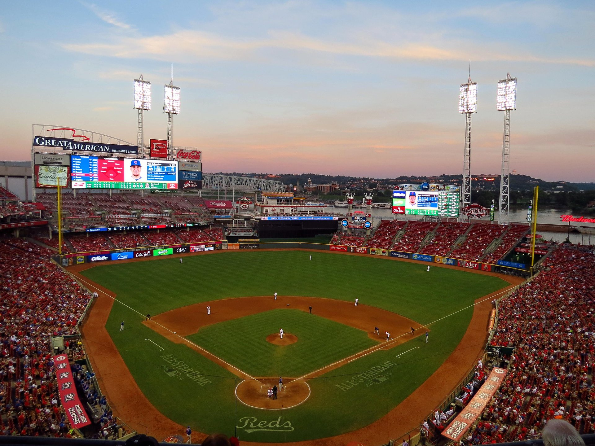 Chicago Cubs @ Cincinnati Reds, Great American Ball Park  2020