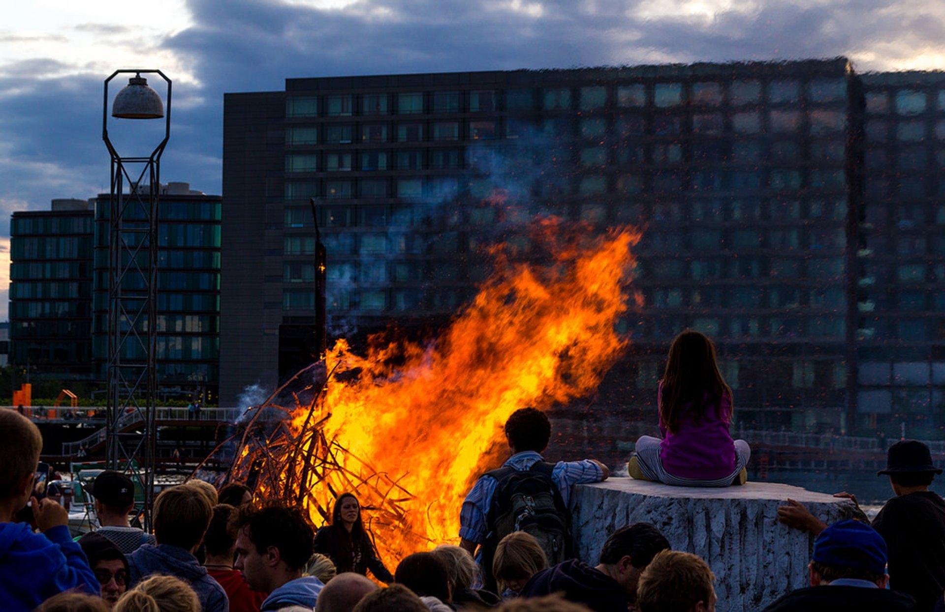 Sankt Hans Aften (Midsummer) in Denmark 2019 - Best Time