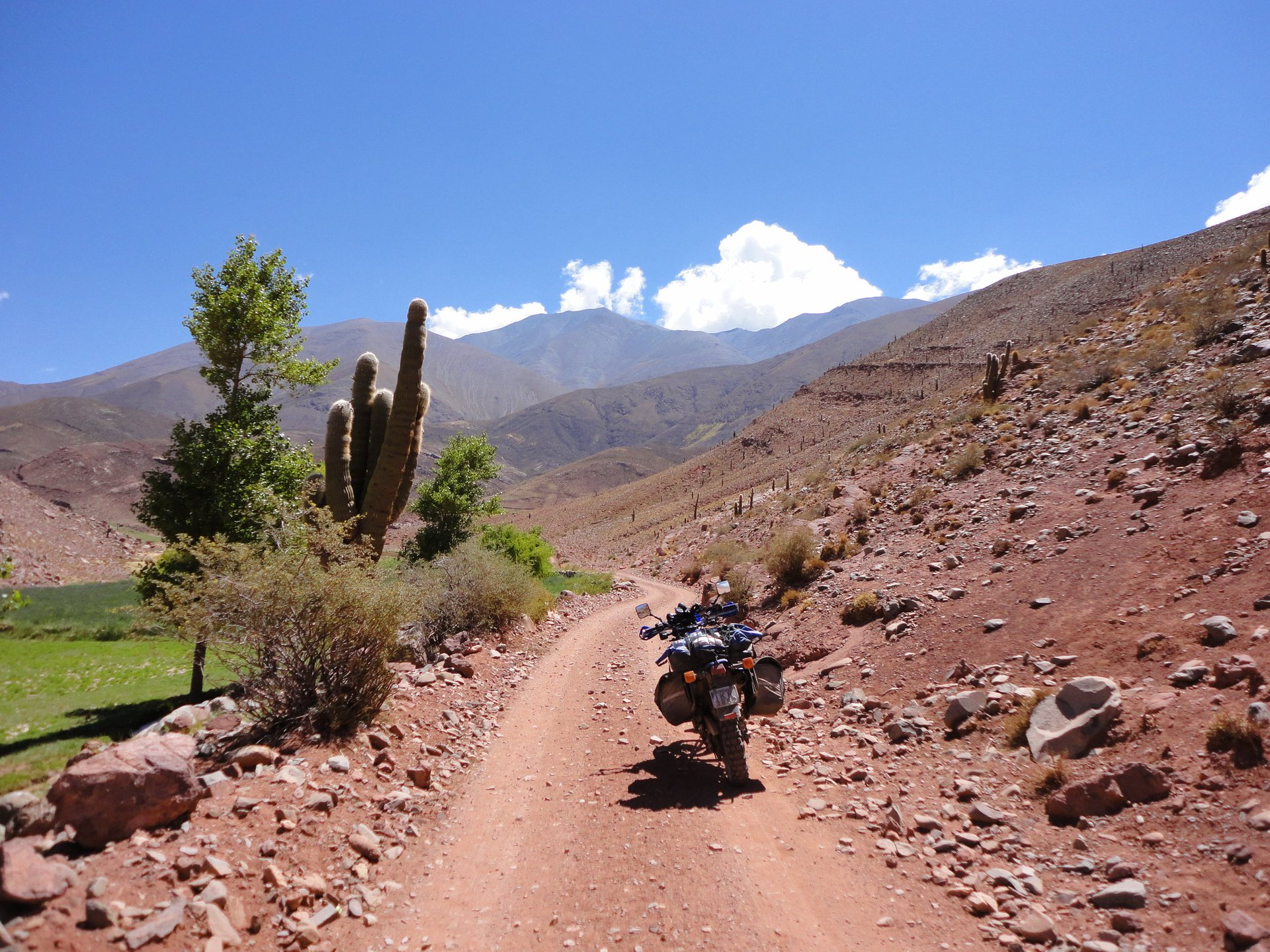 RN40 close to La Poma, Salta Province, Argentina 2020