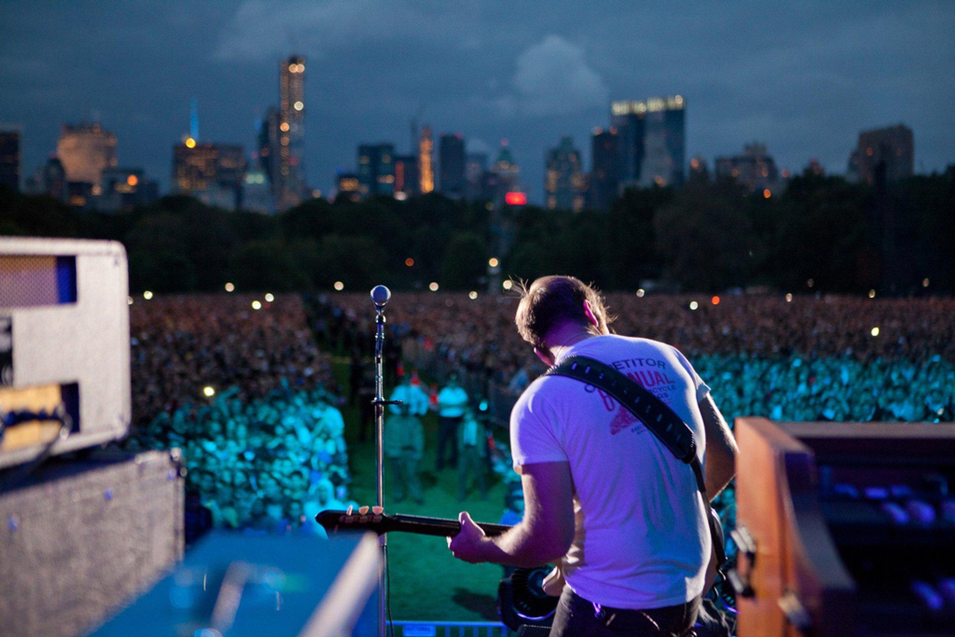 Global Citizen Festival New York in New York 2020 - Best Time