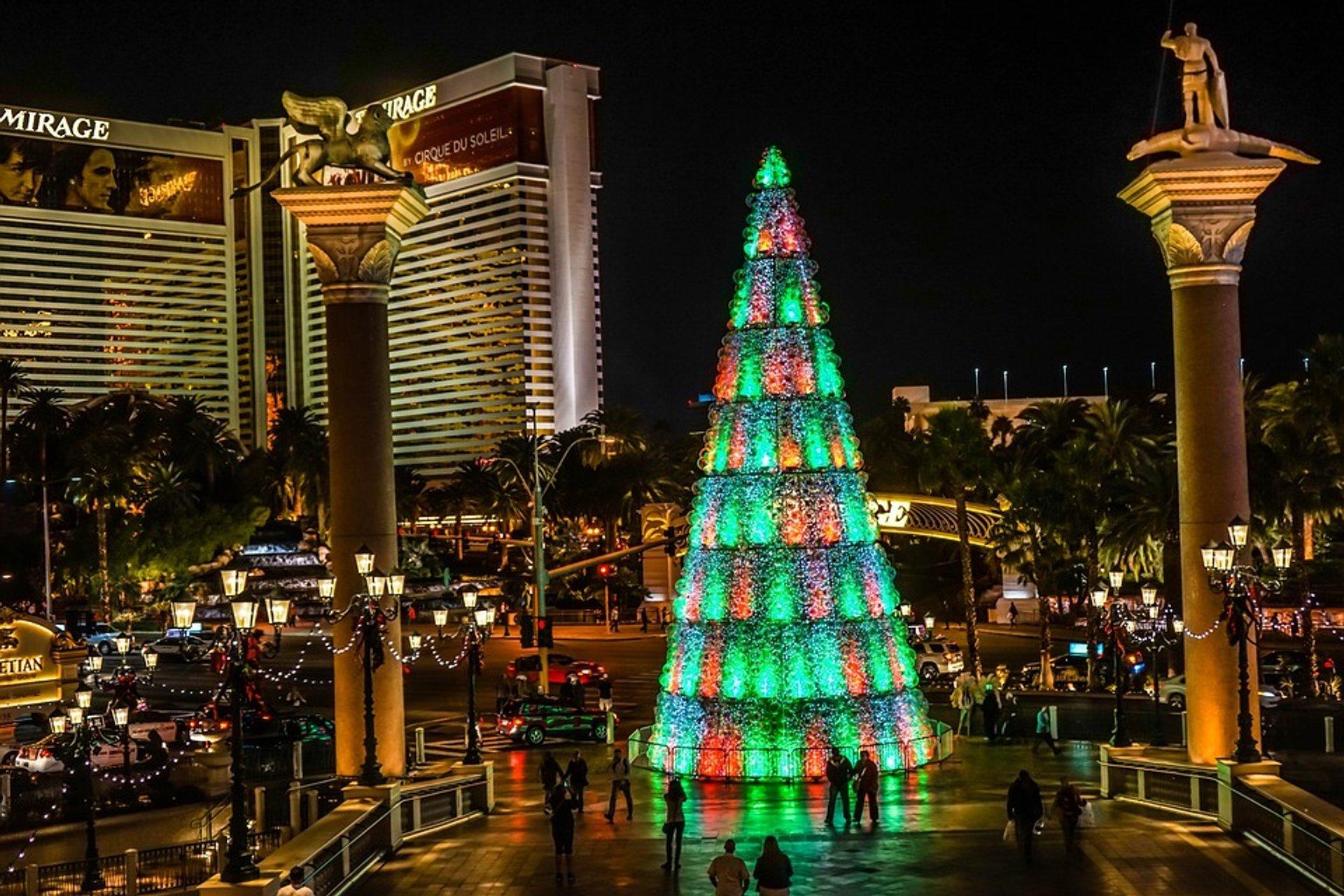 Christmas Season in Las Vegas 2020 - Best Time