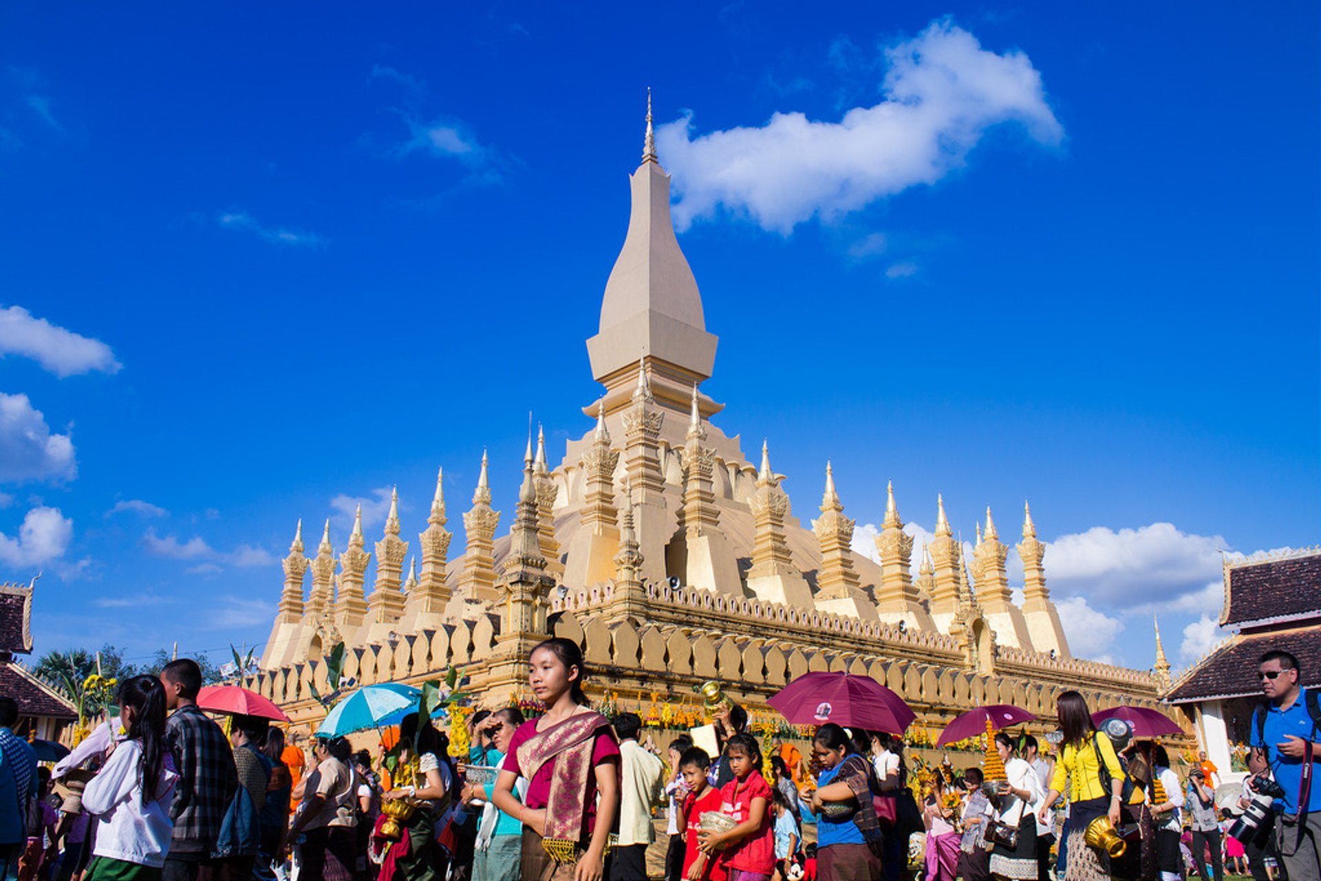 Boun That Luang Festival in Laos 2020 - Best Time