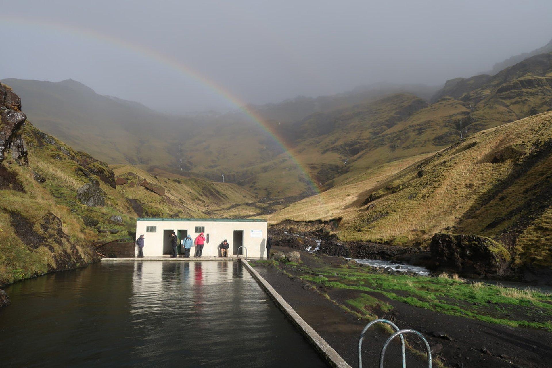 Seljavallalaug Swimming Pool in Iceland - Best Season 2019