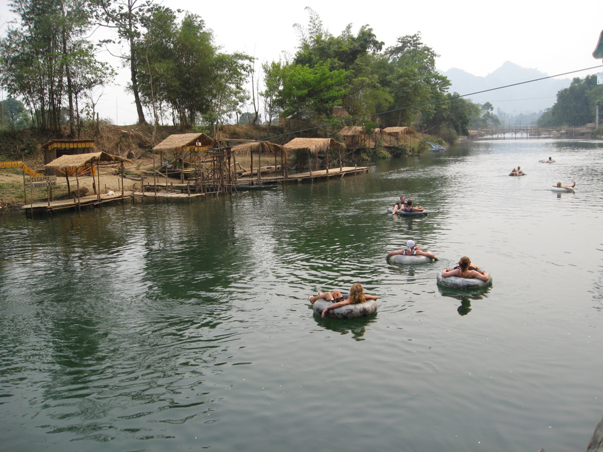 Tubing in Laos 2020 - Best Time