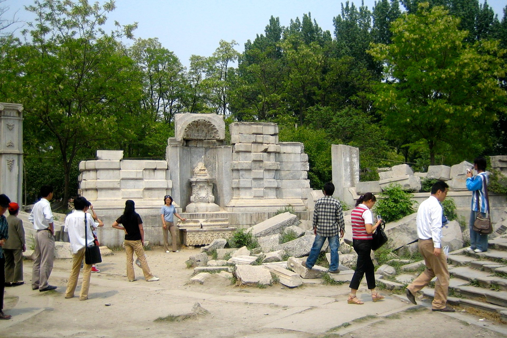 The Ruins of Yuanmingyuan 2020