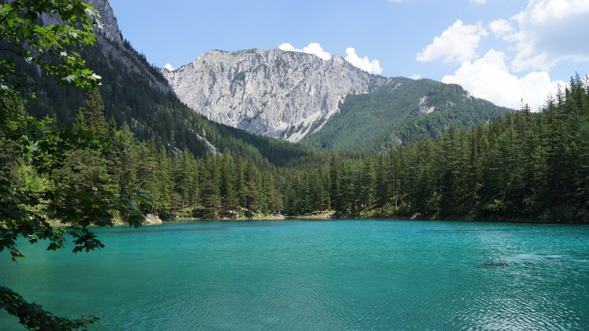 Green Lake Park in Austria - Best Time