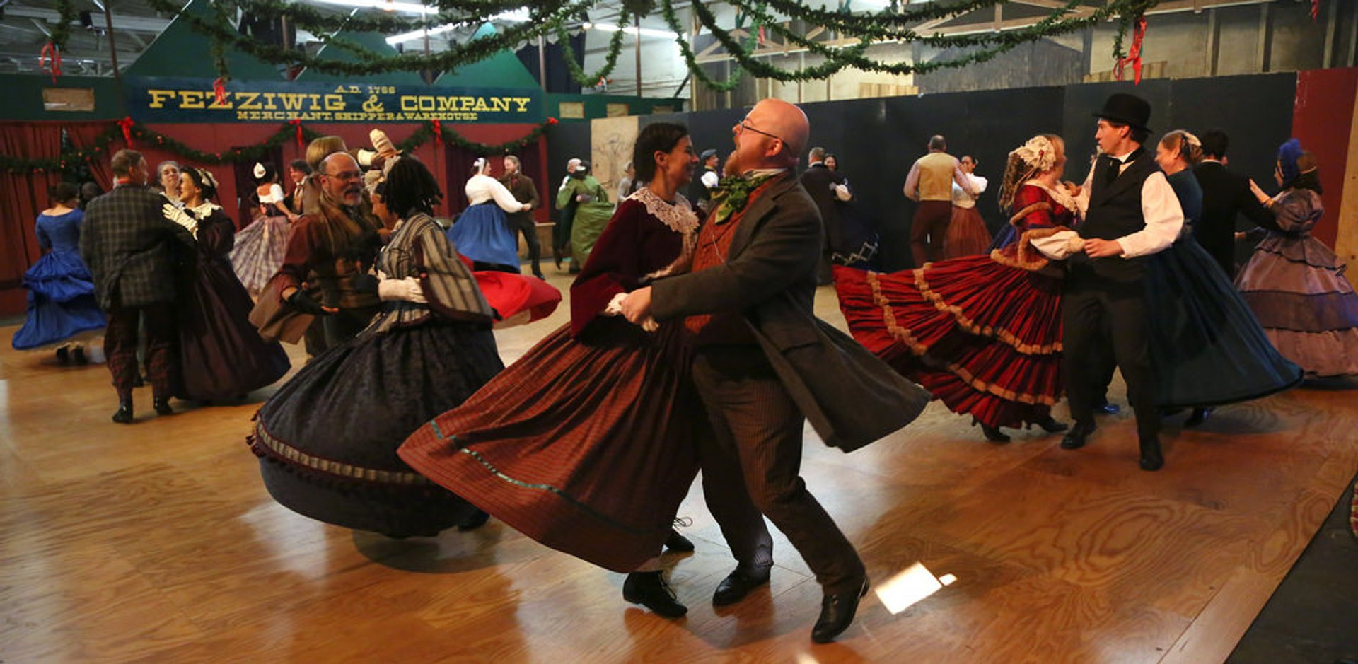 Best time for Great Dickens Christmas Fair
