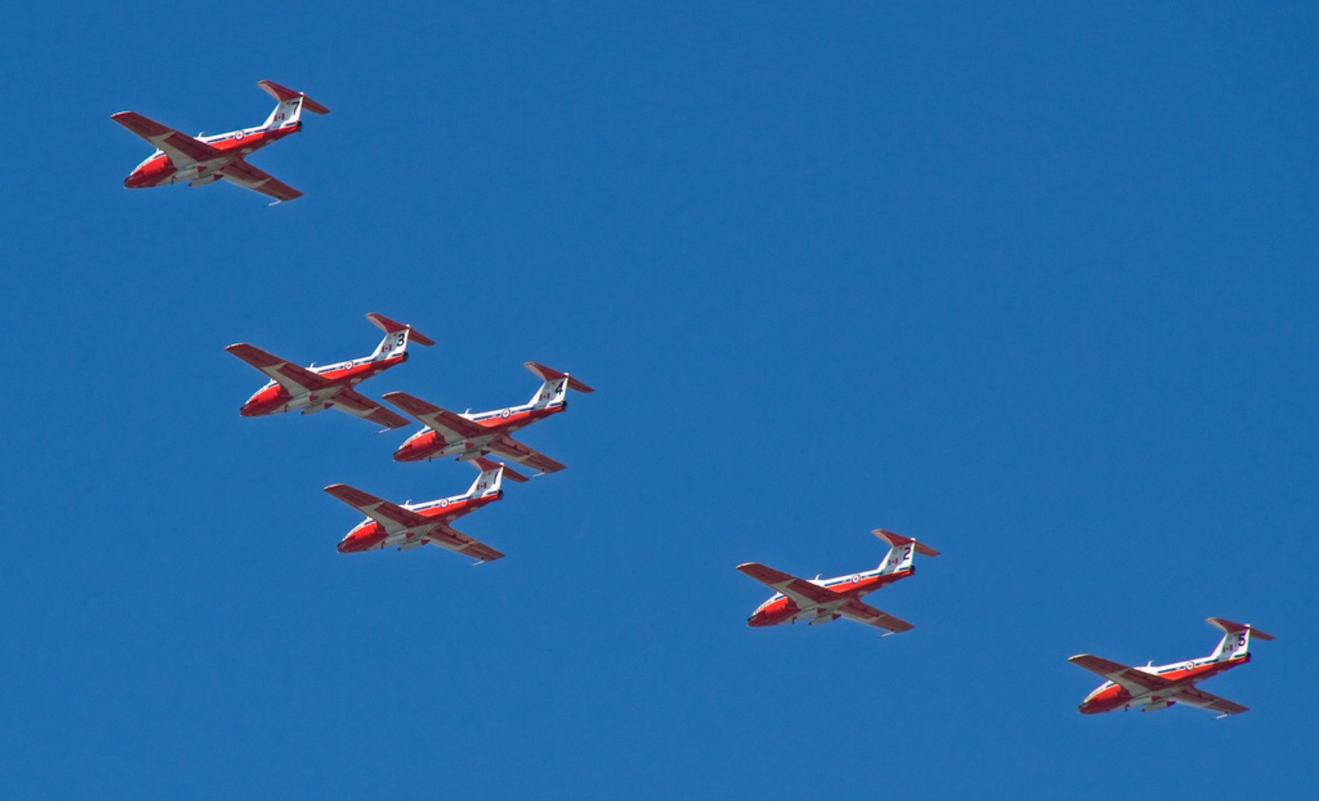 Canadian International Air Show in Toronto - Best Time