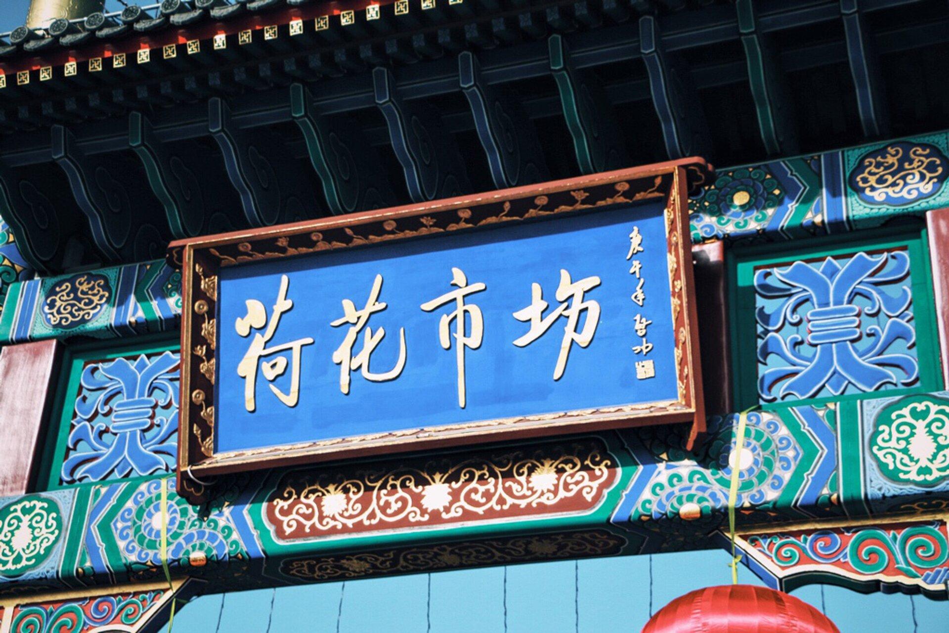 Lotus Market in Beijing 2019 - Best Time