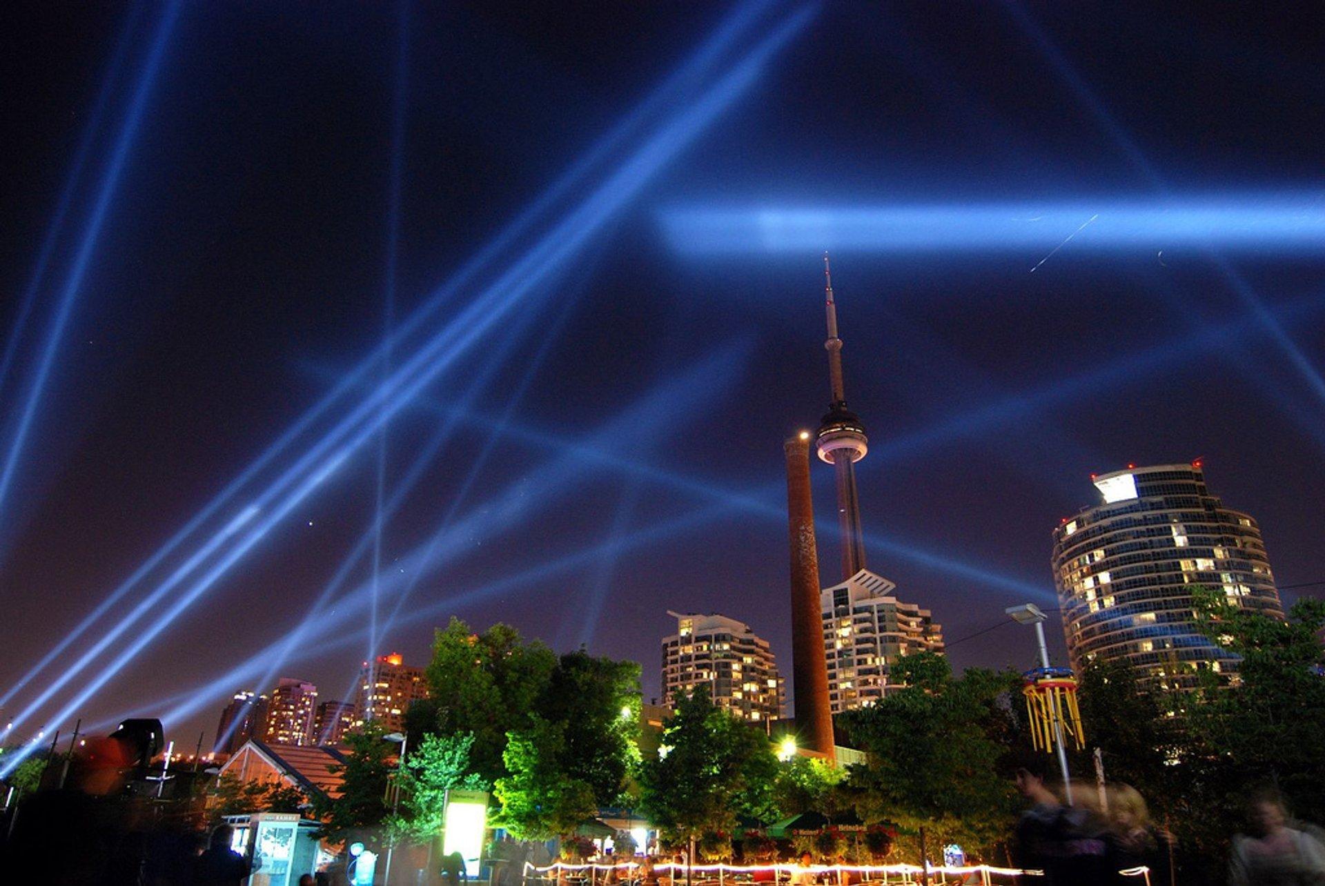 Best time for Luminato Festival in Toronto