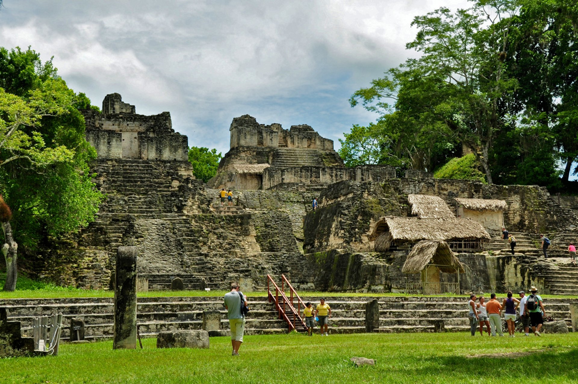 Best time to see Tikal in Guatemala