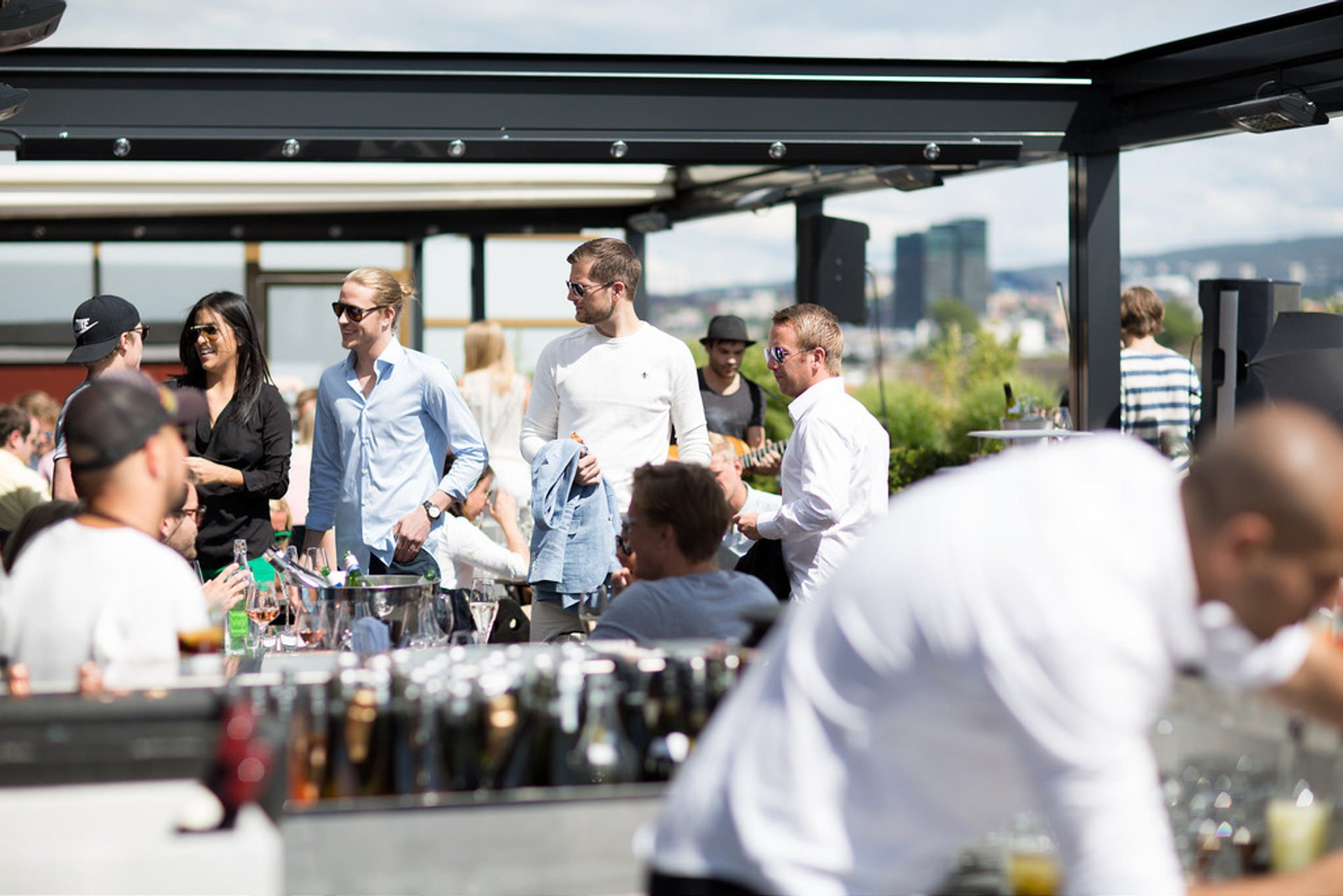 Rooftop Bars in Oslo 2020 - Best Time