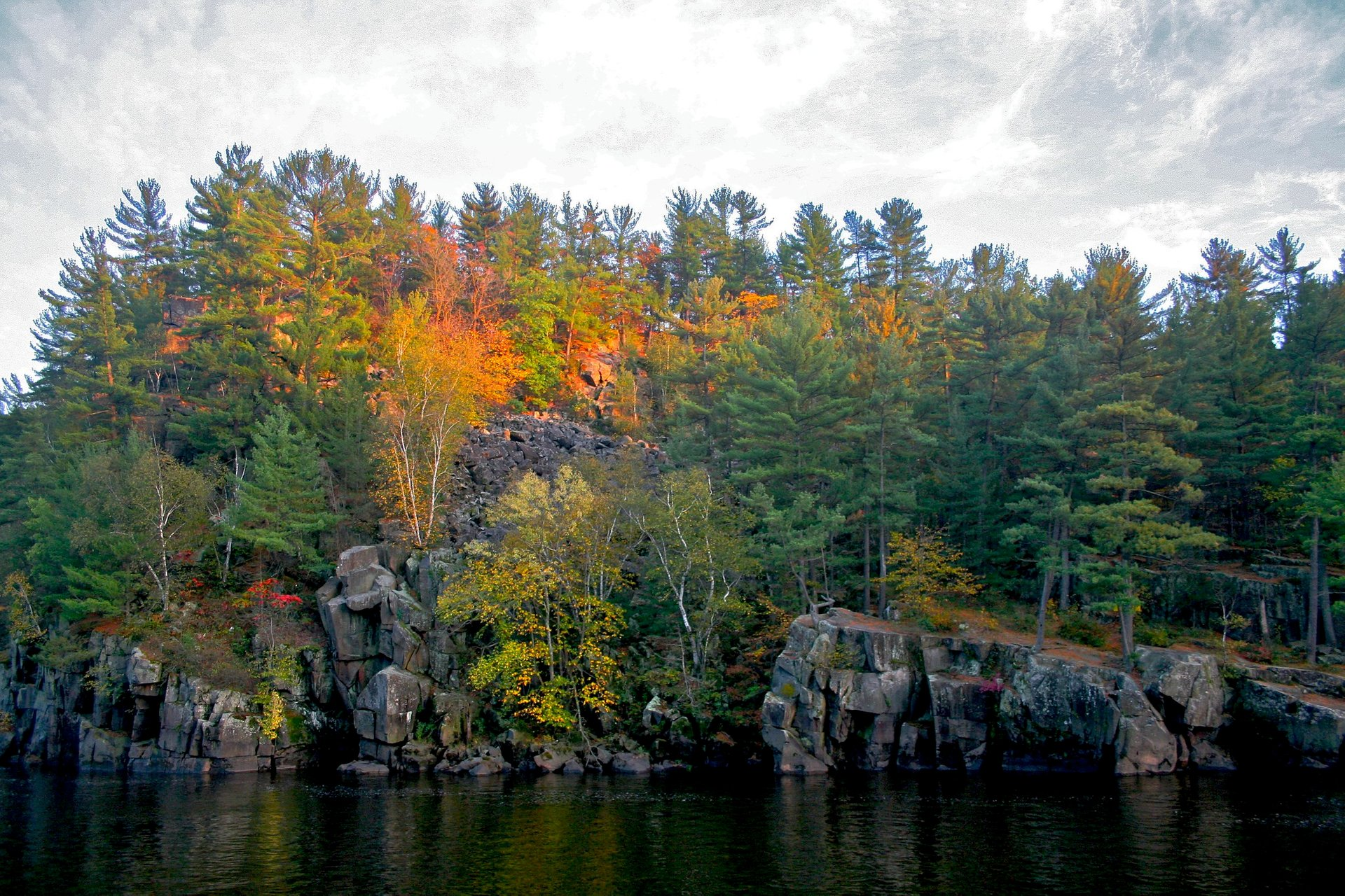 Taylors Falls in Interstate State Park, Minnesota 2020