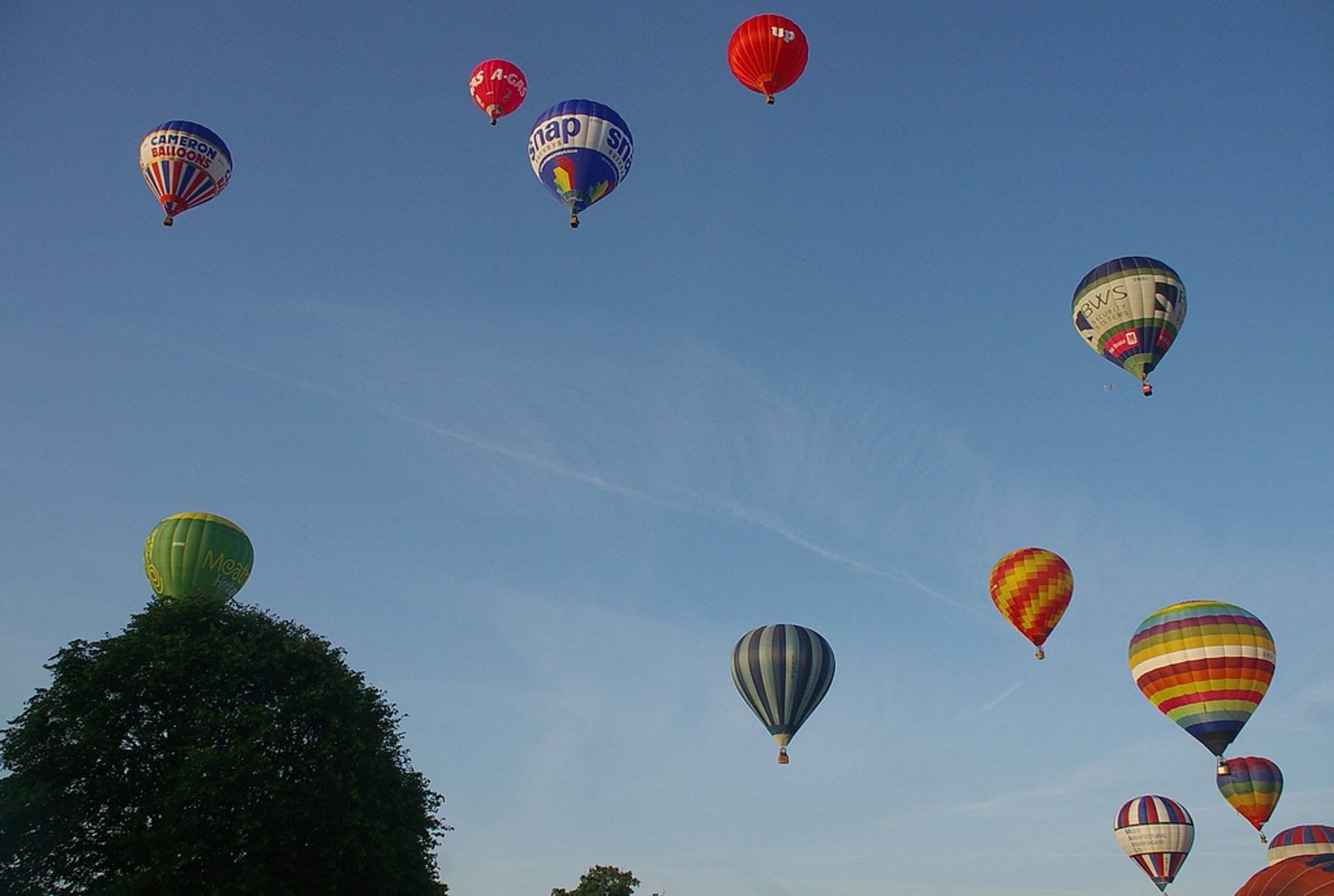 Best time for Bristol International Balloon Fiesta in England 2019