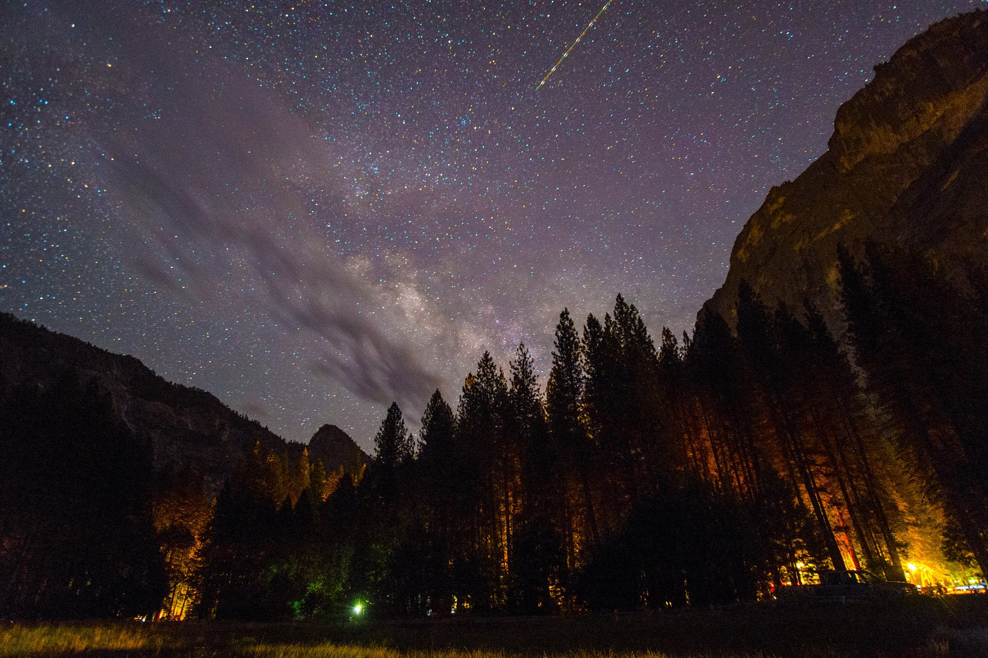 Milky Way, Yosemite