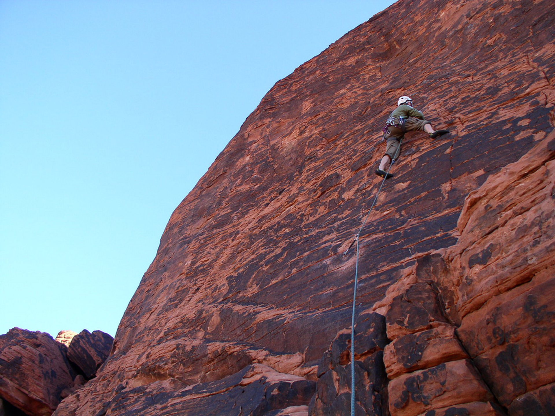 Red Rocks Climbing in Nevada - Best Season 2019