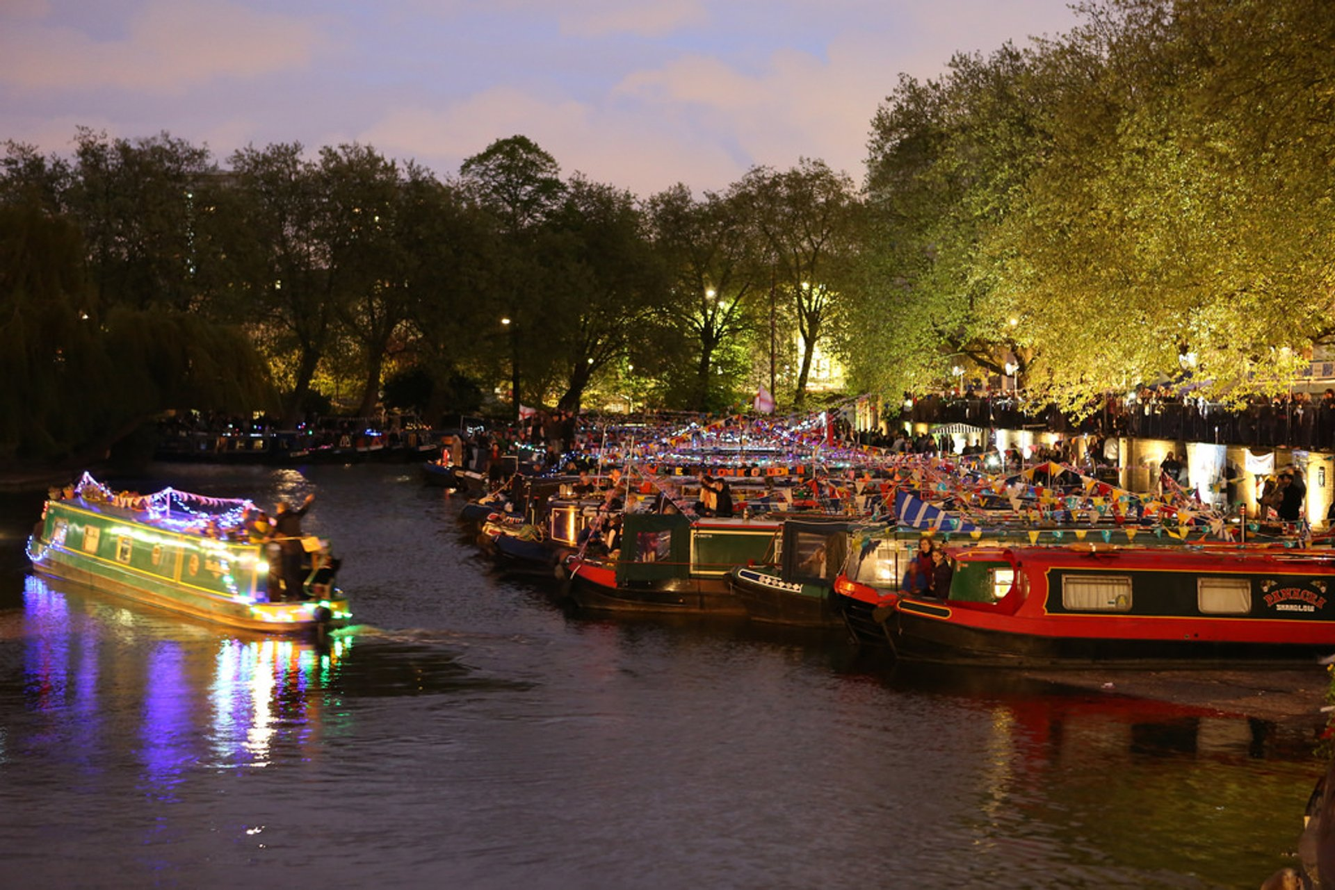 Best time for Canalway Cavalcade 2020