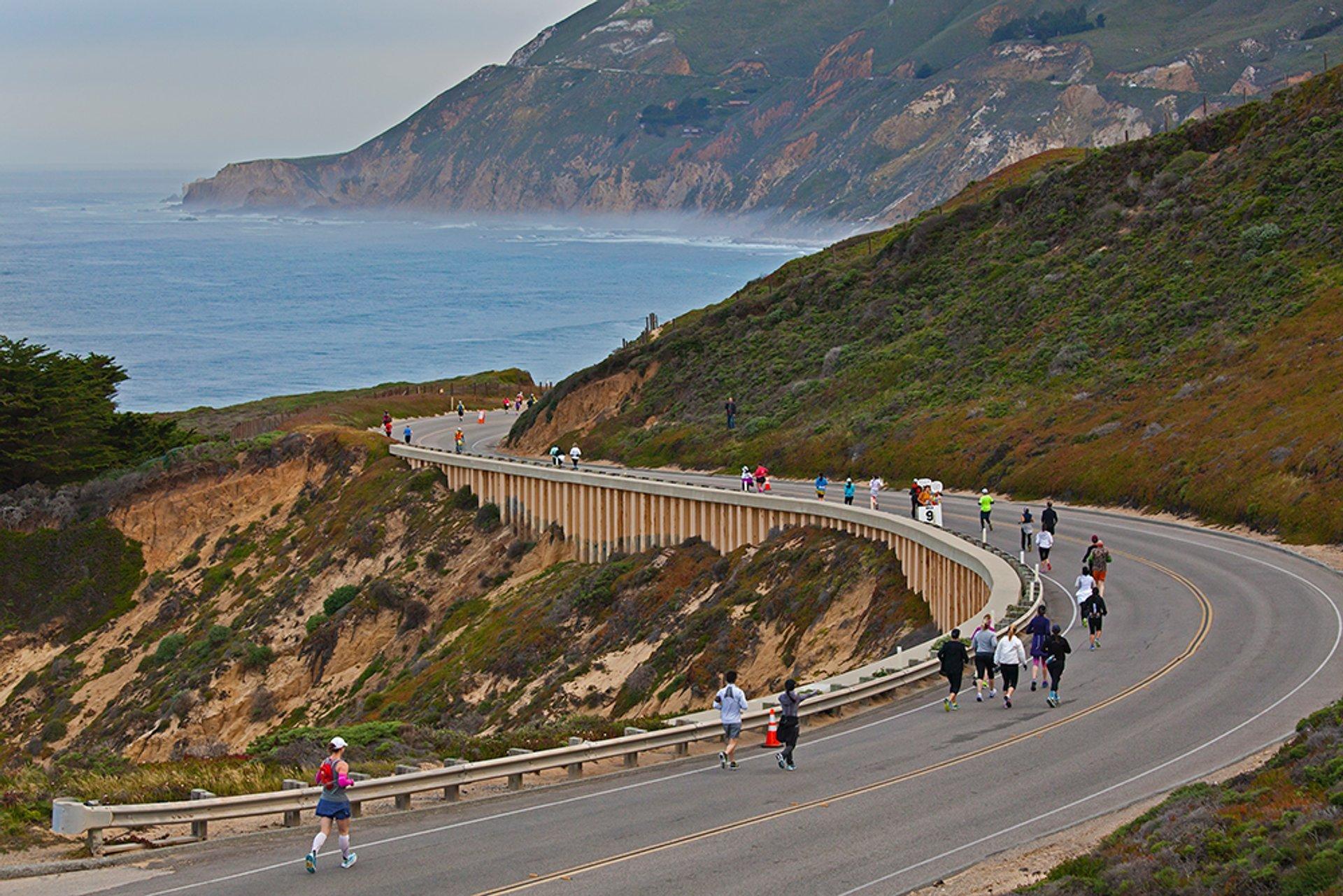 Best time for Big Sur International Marathon in California 2020