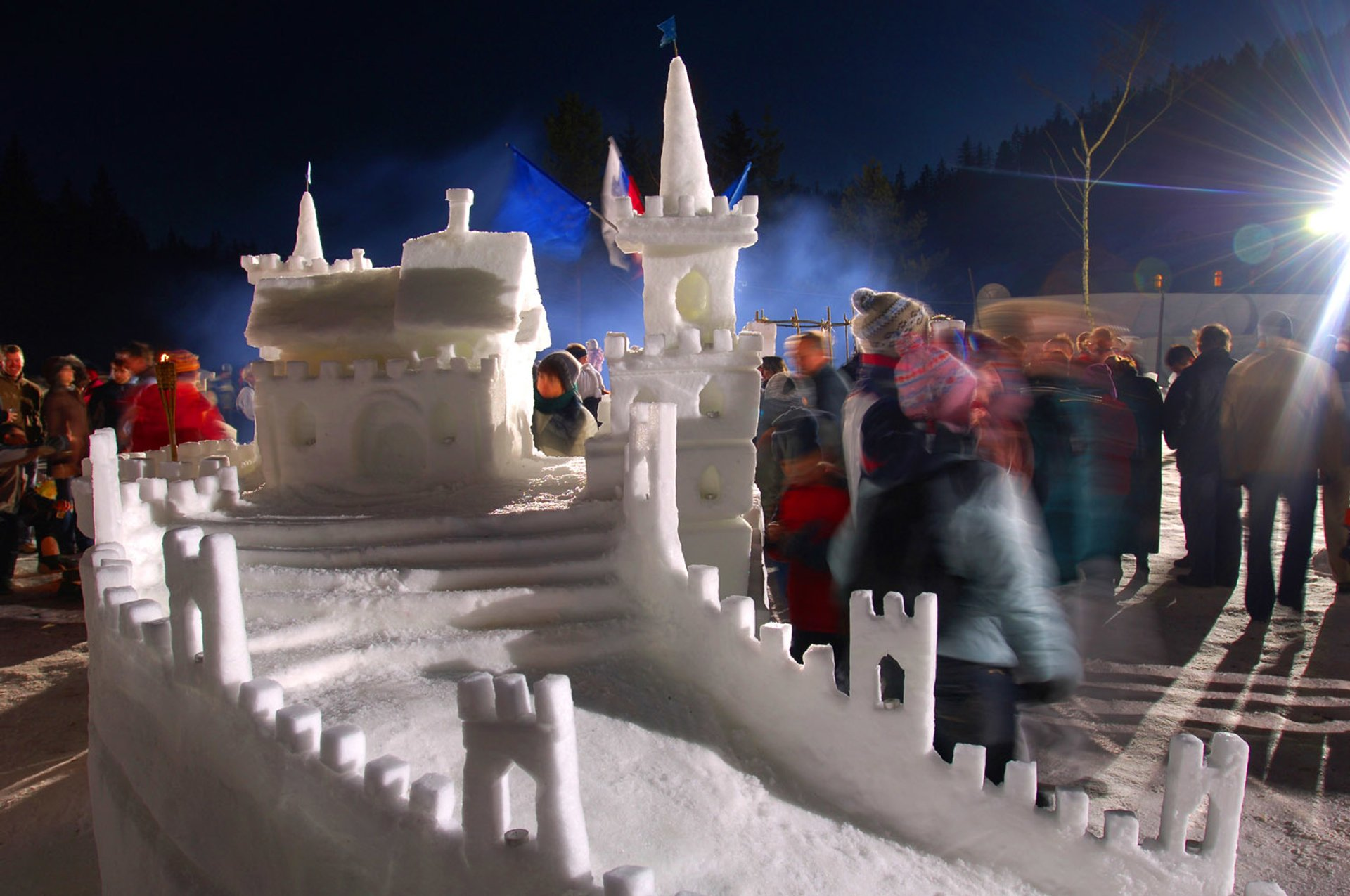 Snow Castle Festival (Gradovi Kralja Matjaža) in Slovenia - Best Time