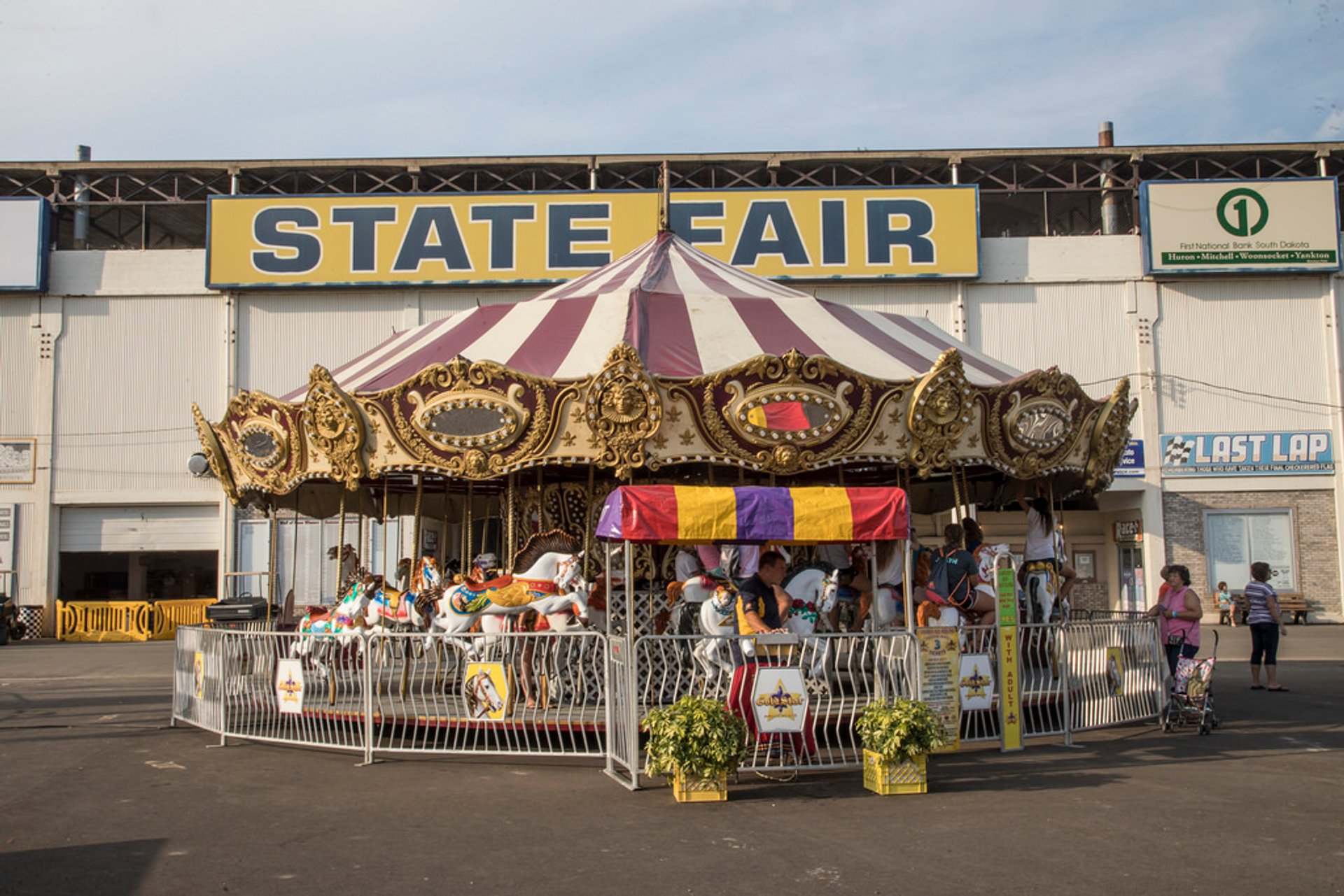 2020 Sd State Fair.South Dakota State Fair 2020 In Midwest Dates Map