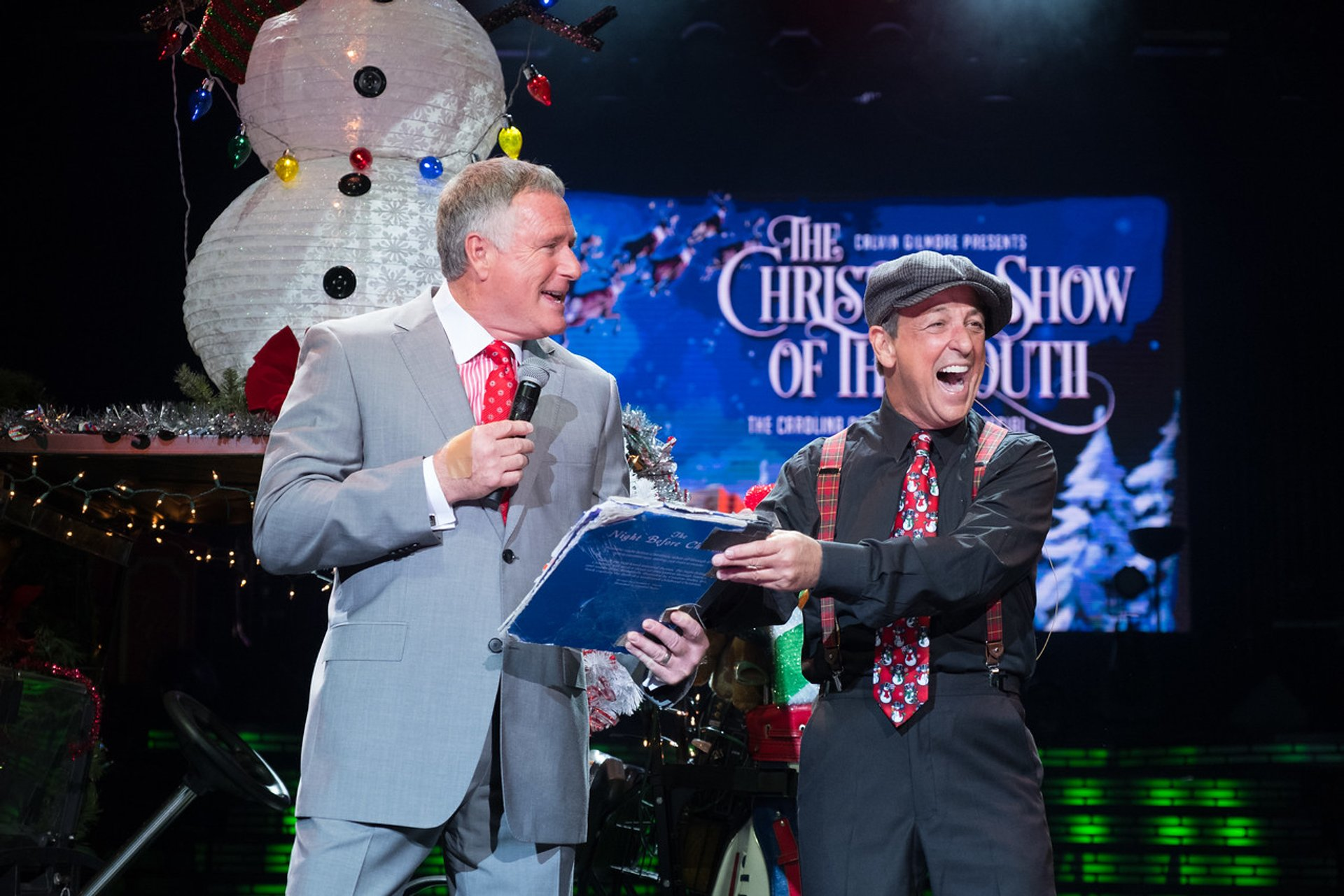 Best time for The Carolina Opry Christmas Special in South Carolina 2020