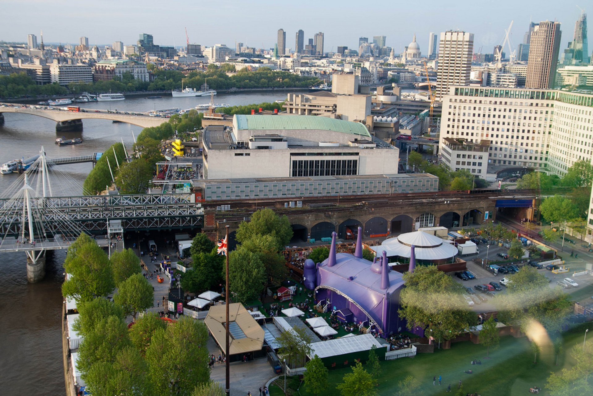 Best time for Underbelly Festival Southbank in London 2020