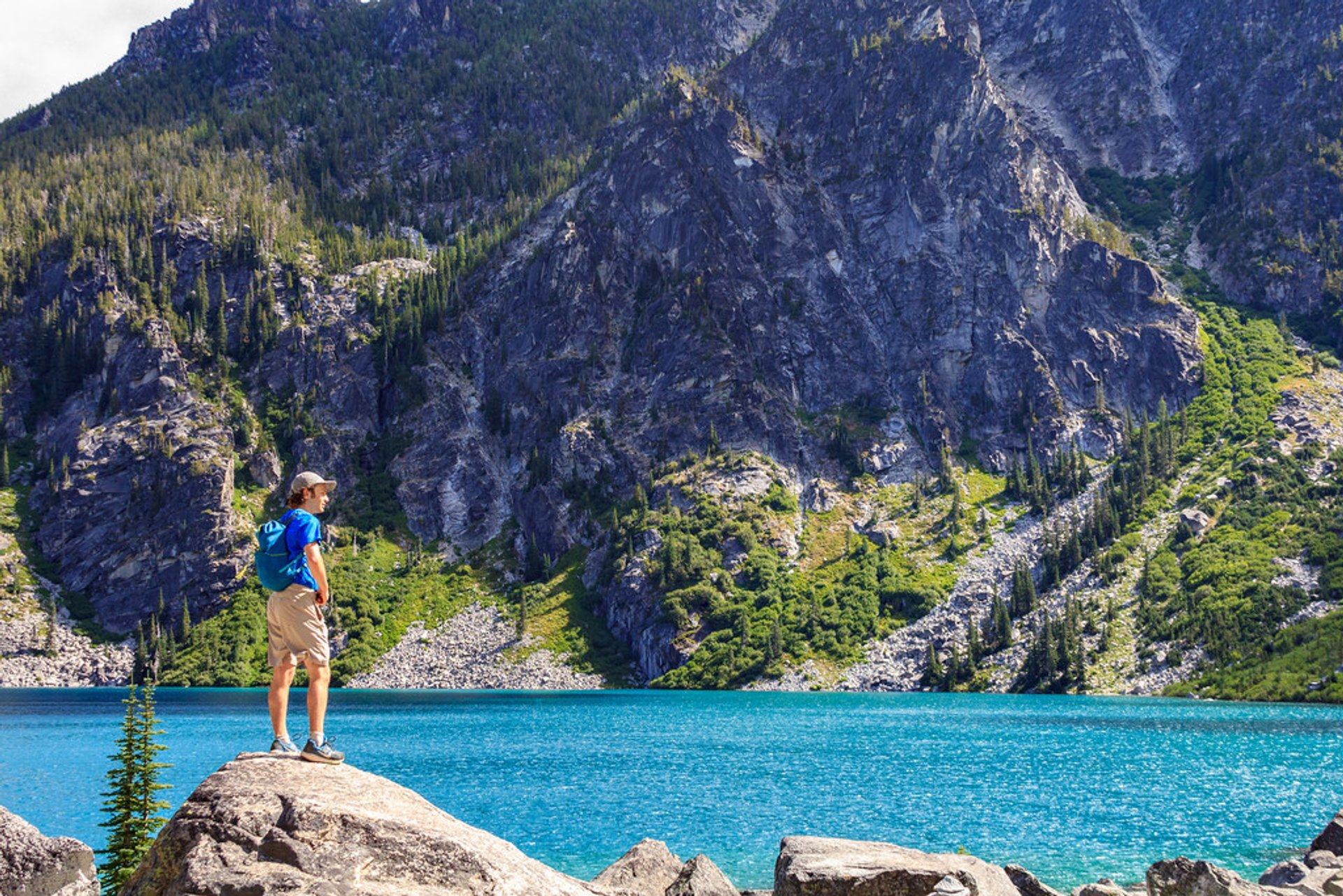 Best time to see Colchuck Lake in Seattle 2020