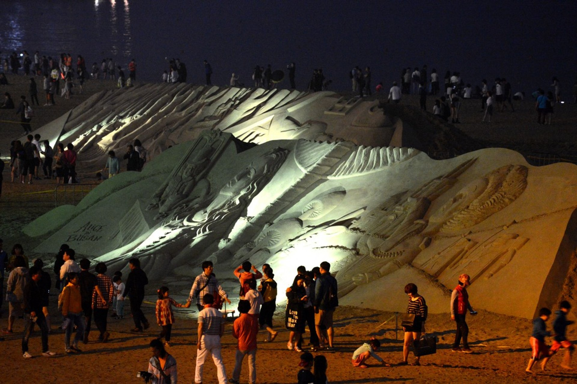 Best time for Haeundae Sand Festival 2020