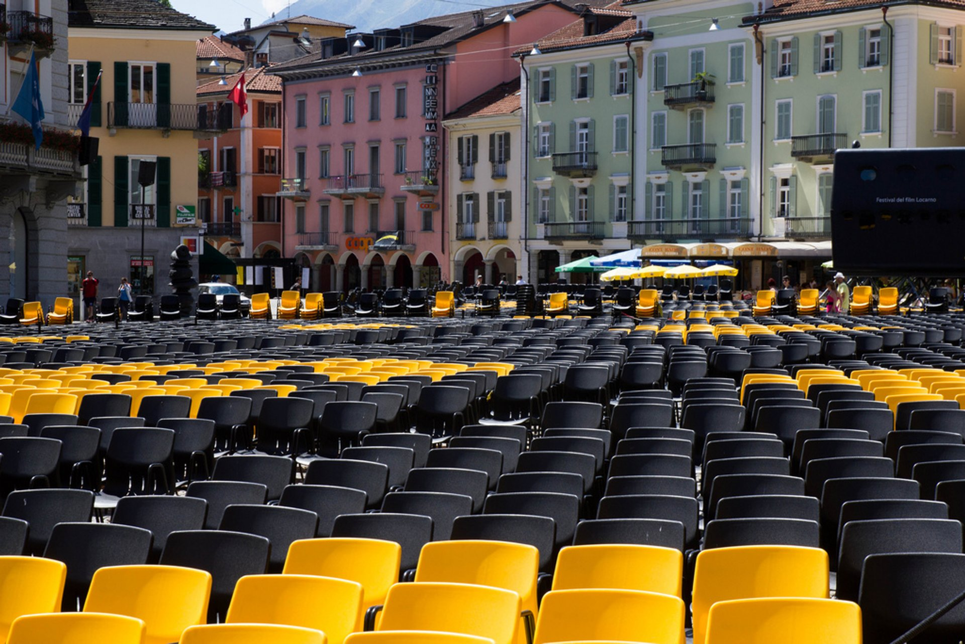 Best time for Locarno Film Festival in Switzerland 2020