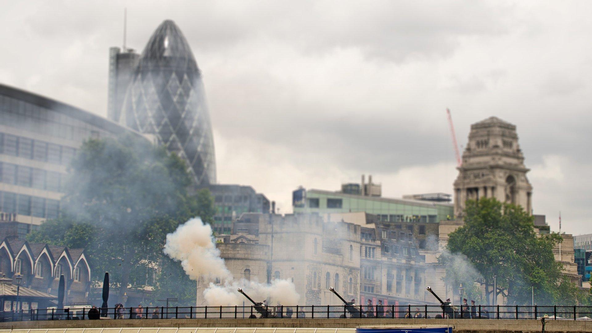 Royal Gun Salutes in London - Best Season 2020