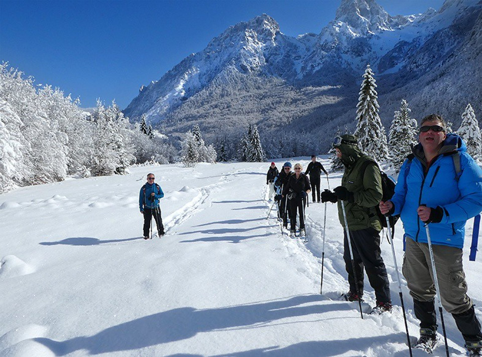 Snowshoeing in Albania 2019 - Best Time