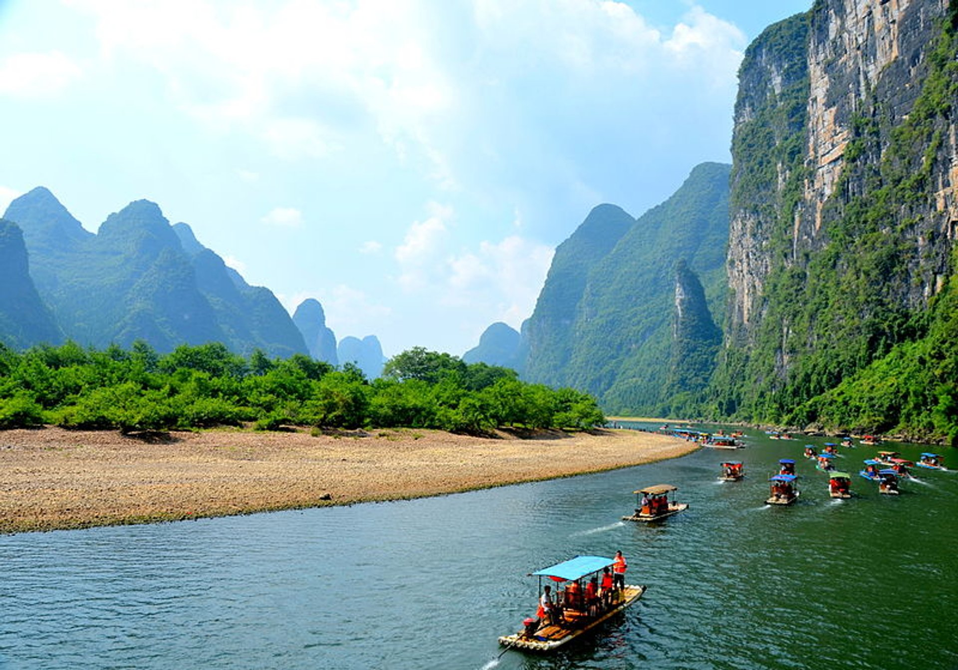 Li River Hiking in Guilin 2019 - Best Time