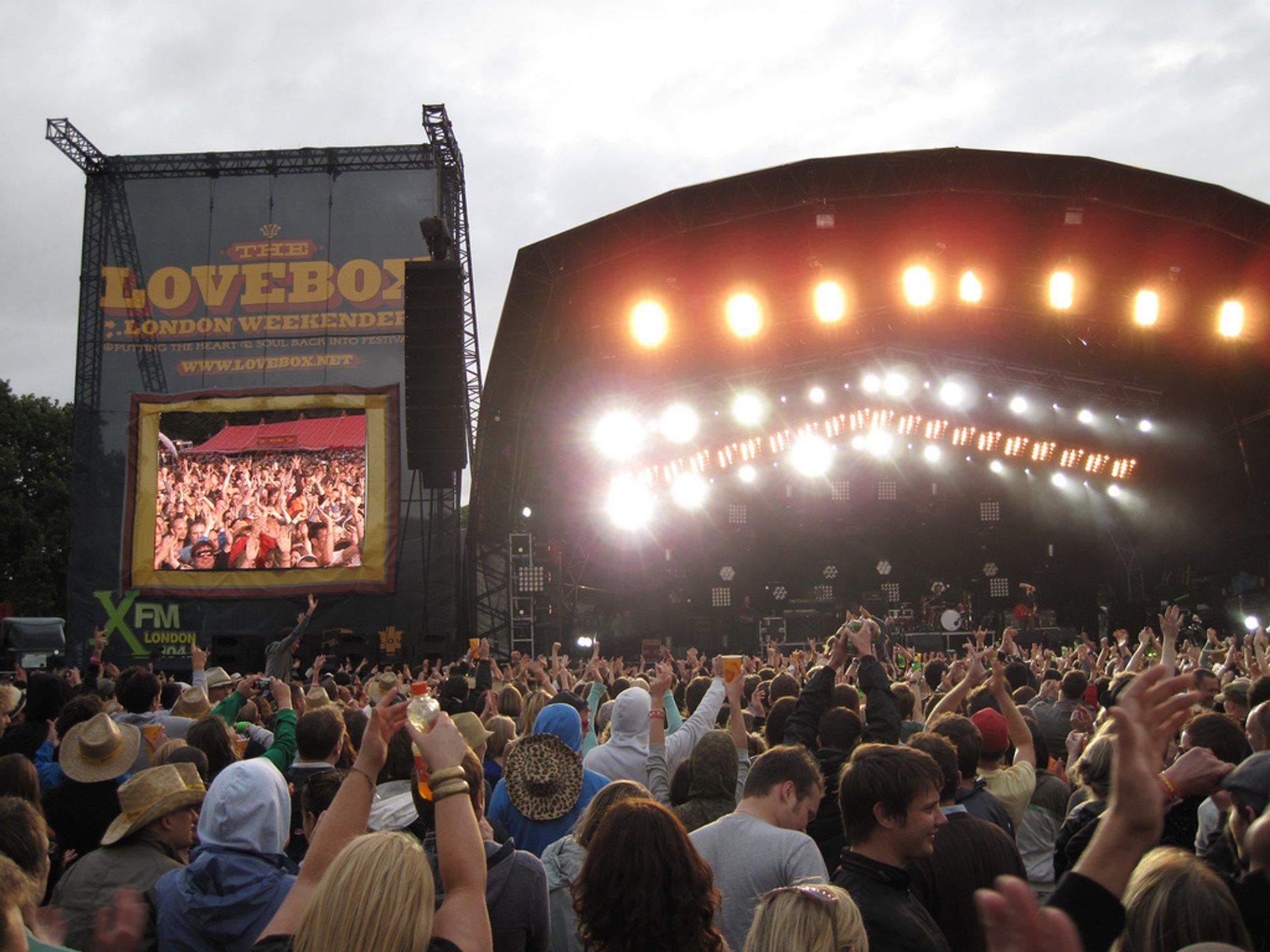 Lovebox Festival in London 2020 - Best Time