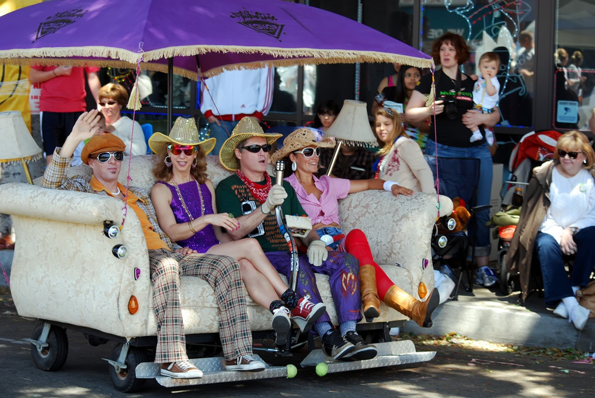 Best time for Pasadena Doo Dah Parade in Los Angeles
