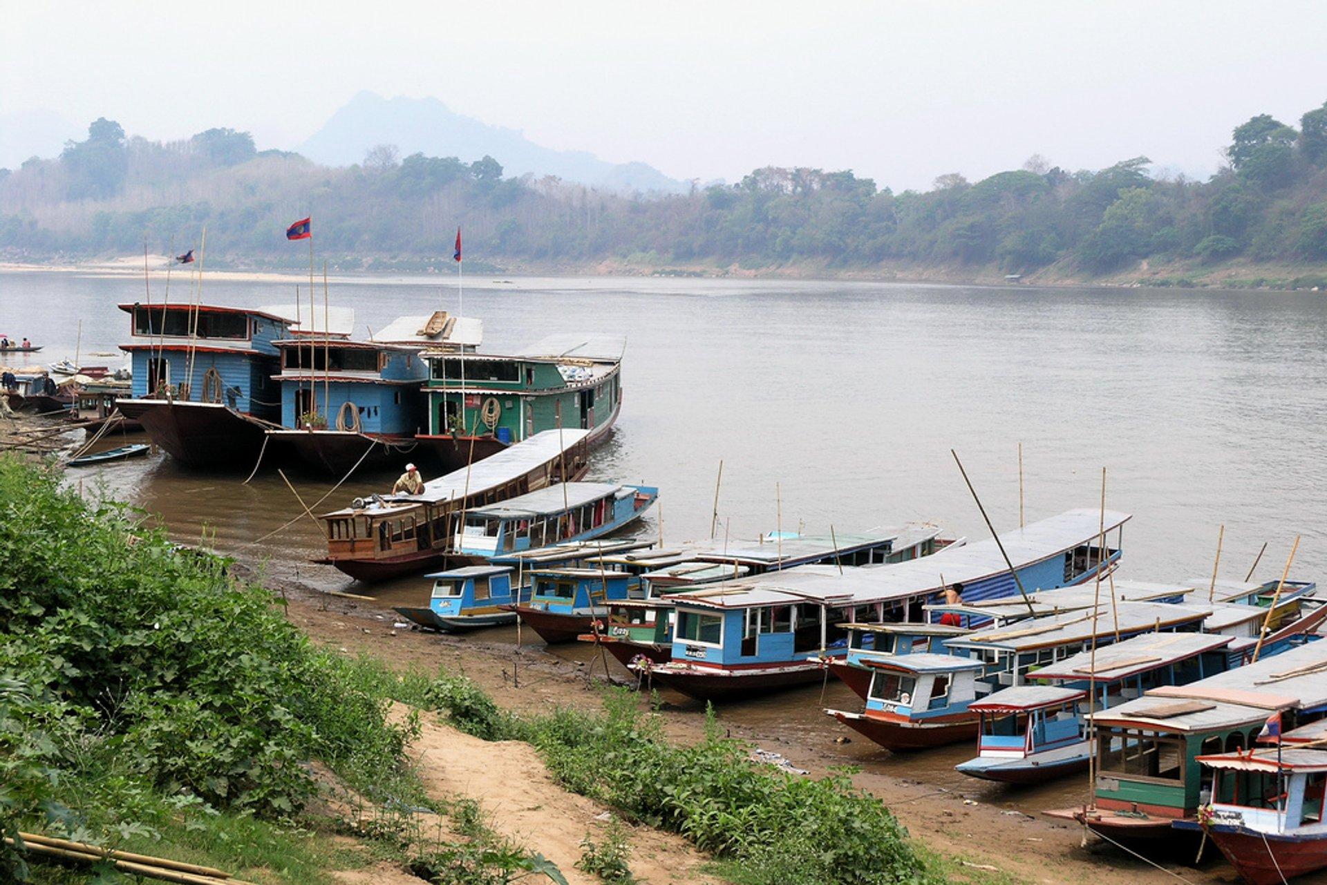 Slow Boat on the Mekong River in Laos - Best Season 2020
