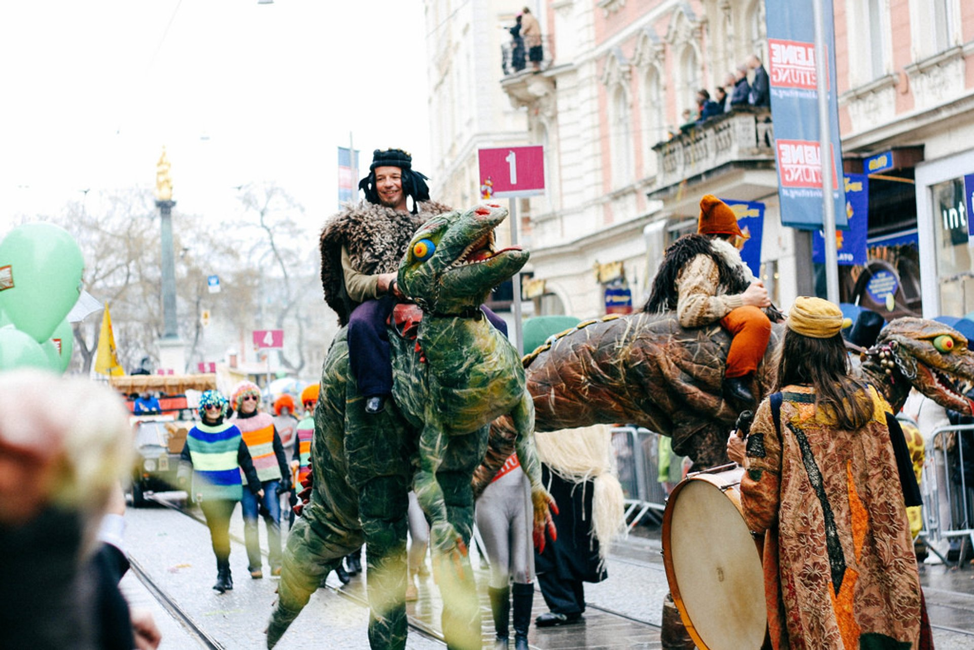 Fasching in Graz 2020