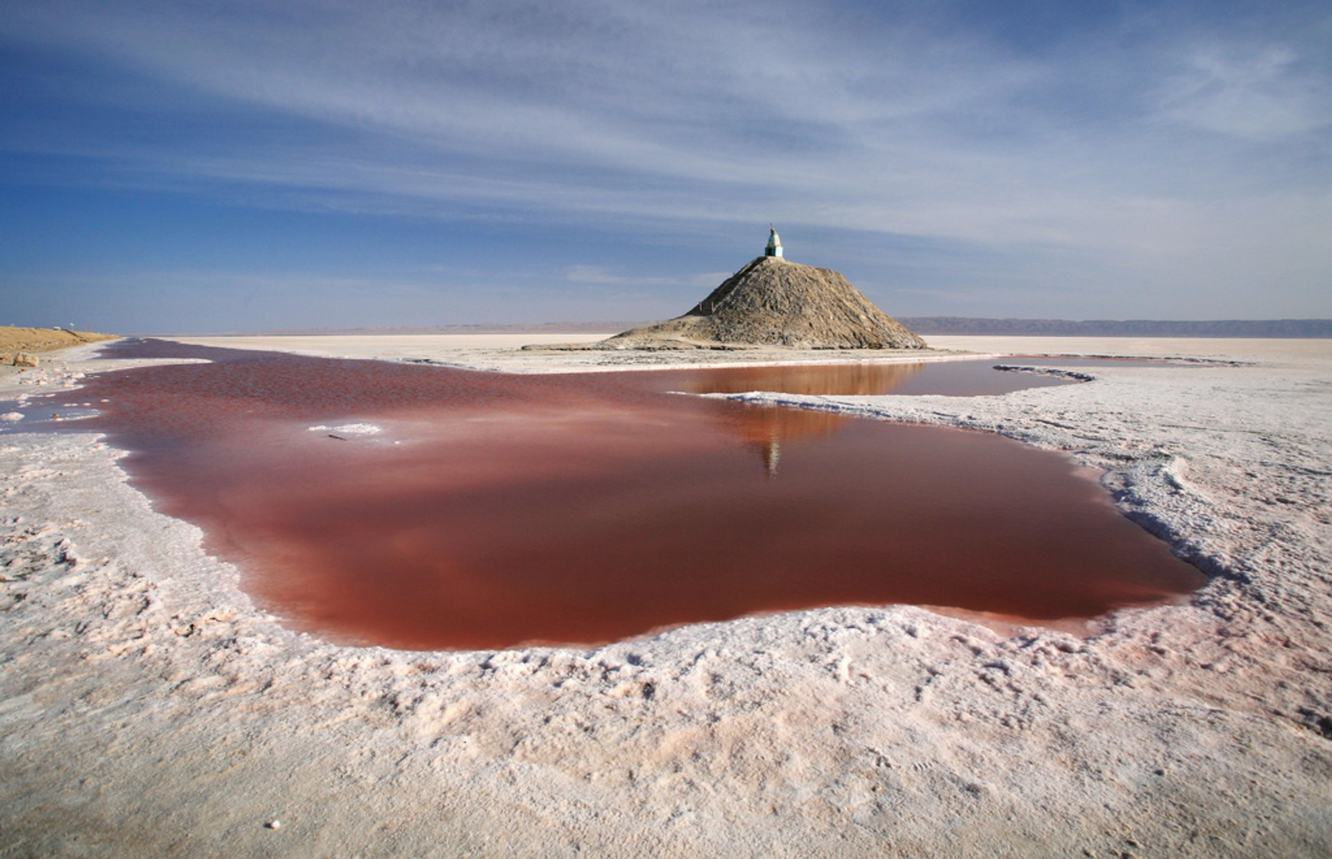 Chott el Djerid - salt lake