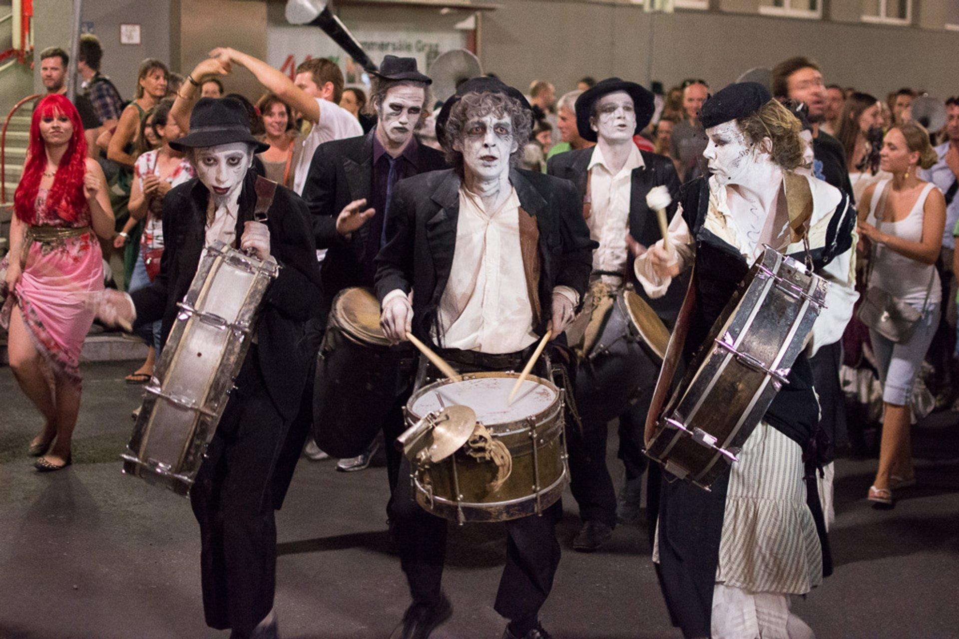 La Strada Street Theatre Festival in Austria - Best Time
