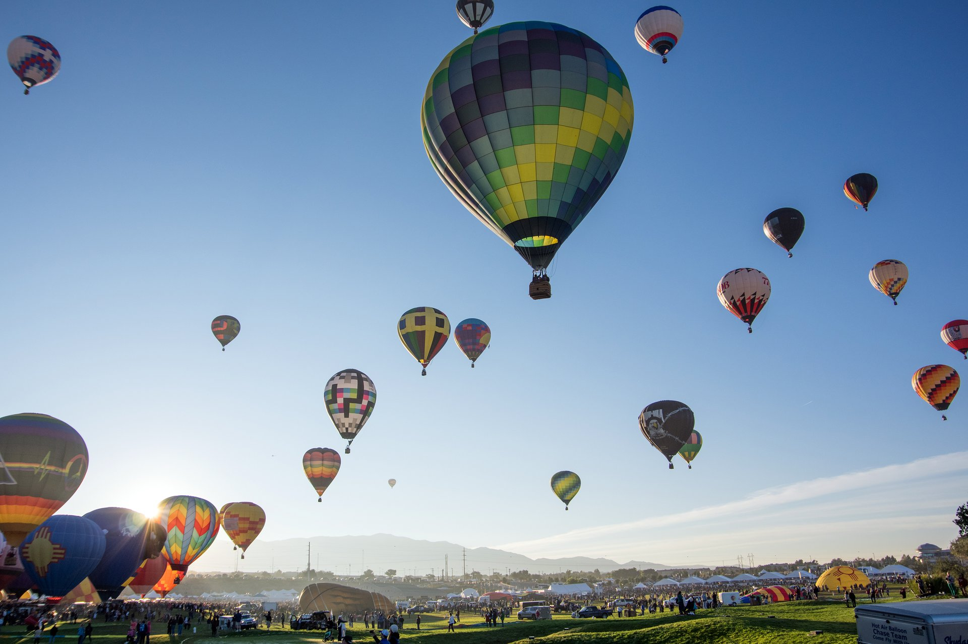 Best time for Albuquerque International Balloon Fiesta in New Mexico 2020