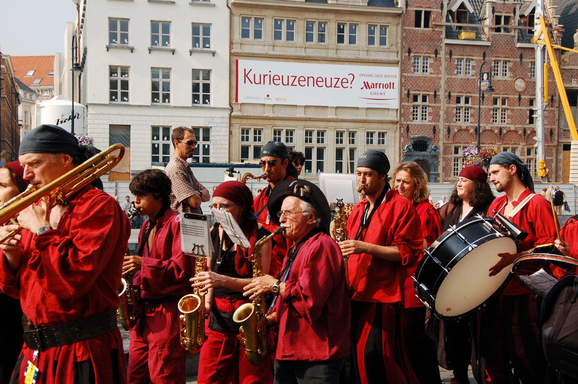 Ghent Festival of Flanders in Belgium 2020 - Best Time