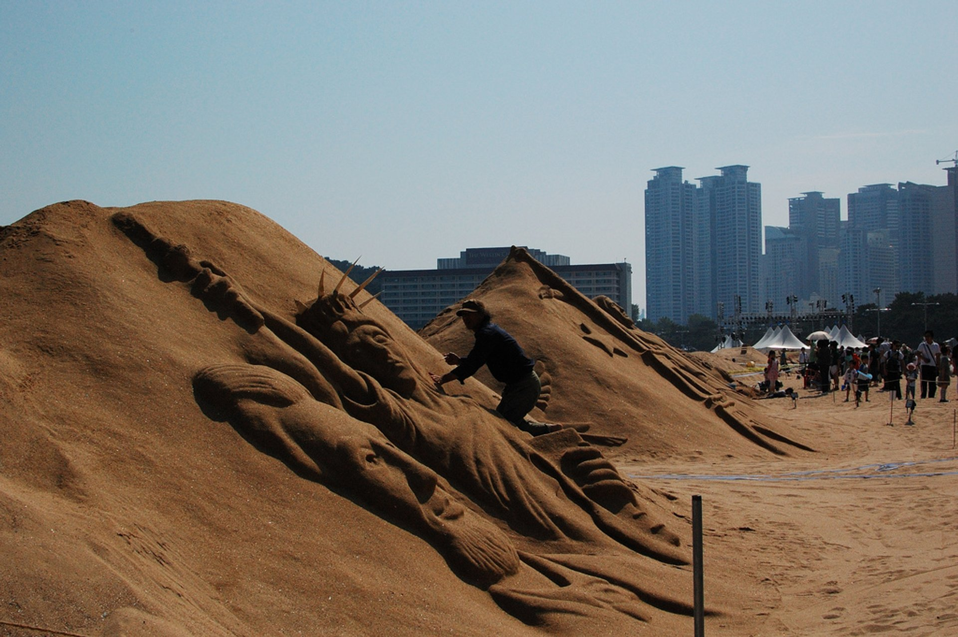 Haeundae Sand Festival in South Korea - Best Season 2020