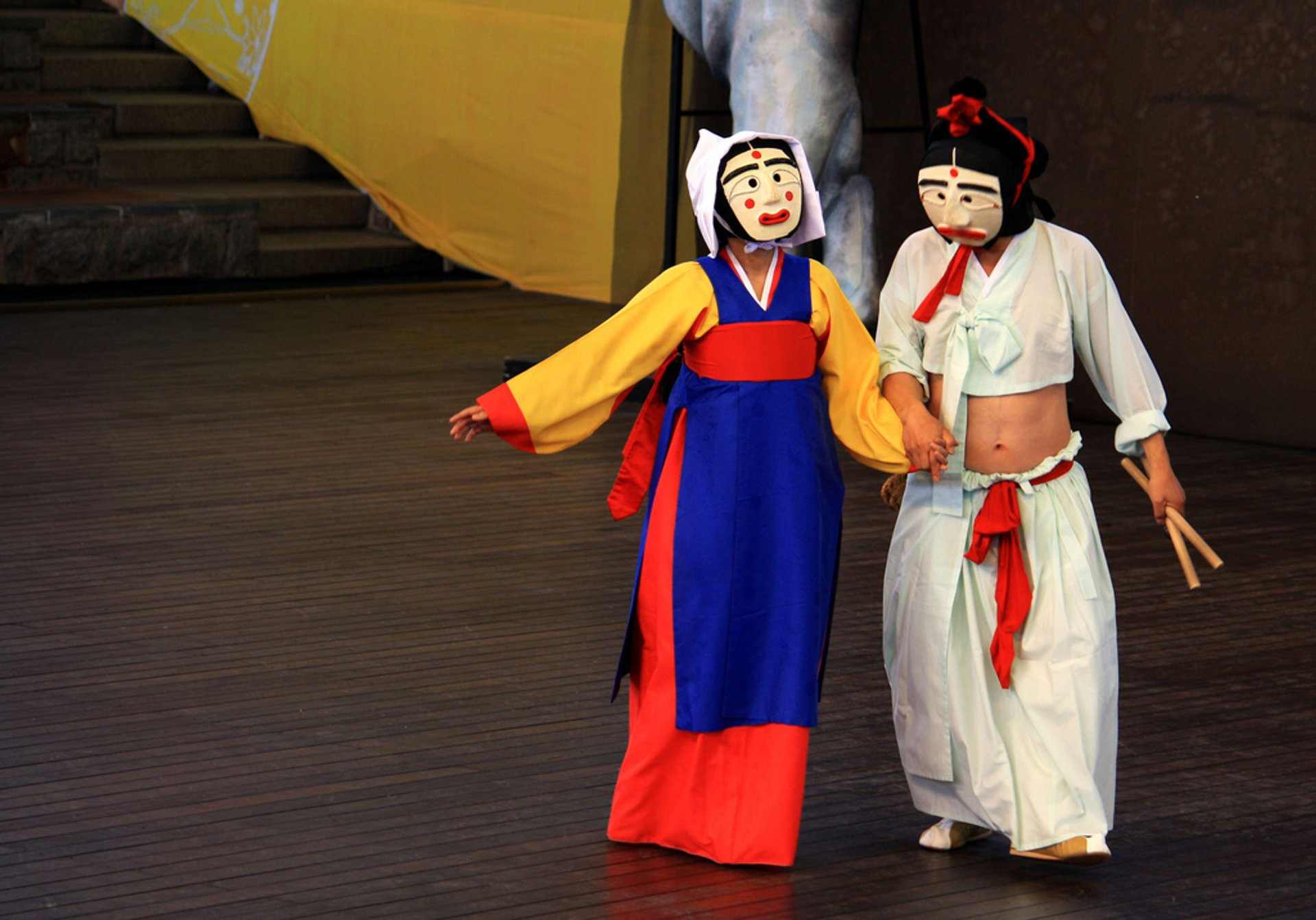 Best time for Andong Mask Dance Festival in South Korea 2020