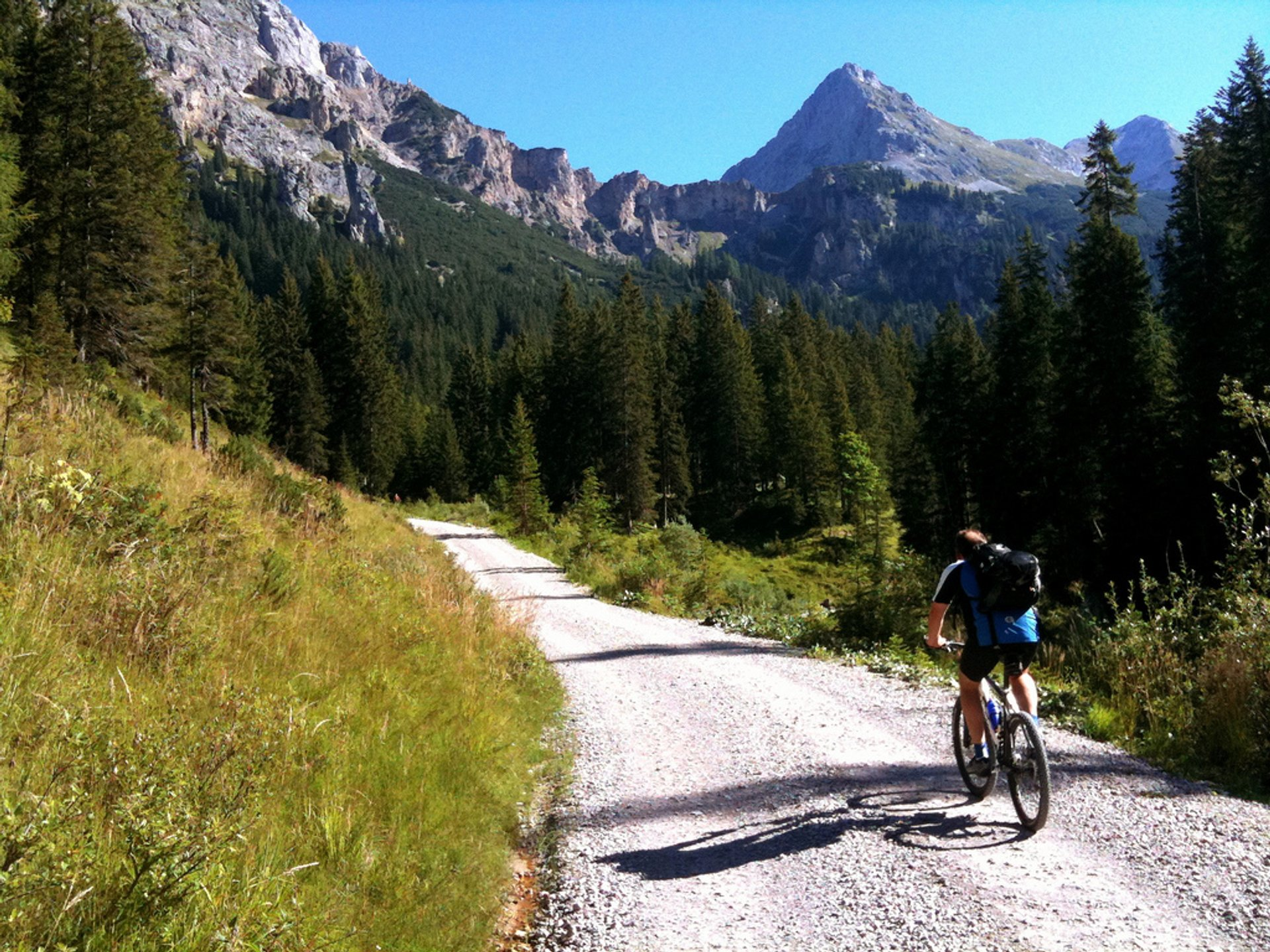 Mountain Bike Scharnitz To Achensee, Austria