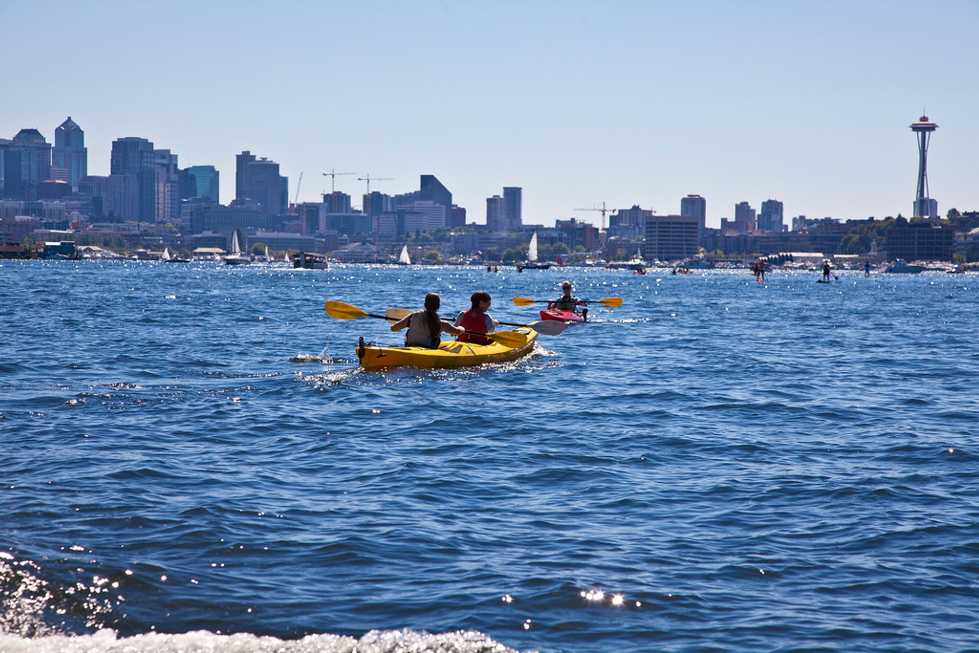Kayaking in Seattle 2019 - Best Time