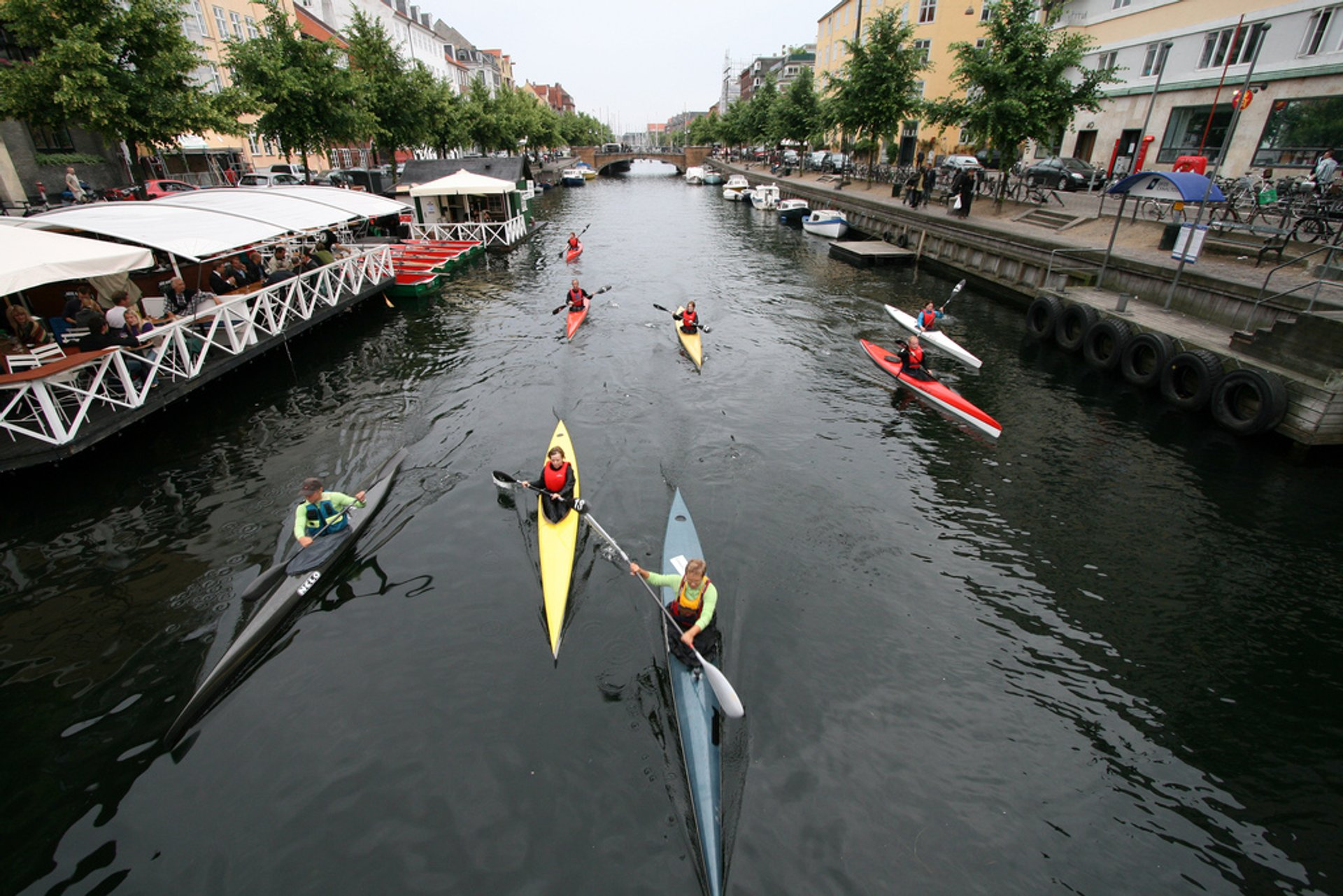 Best time to see Kayaking in Copenhagen