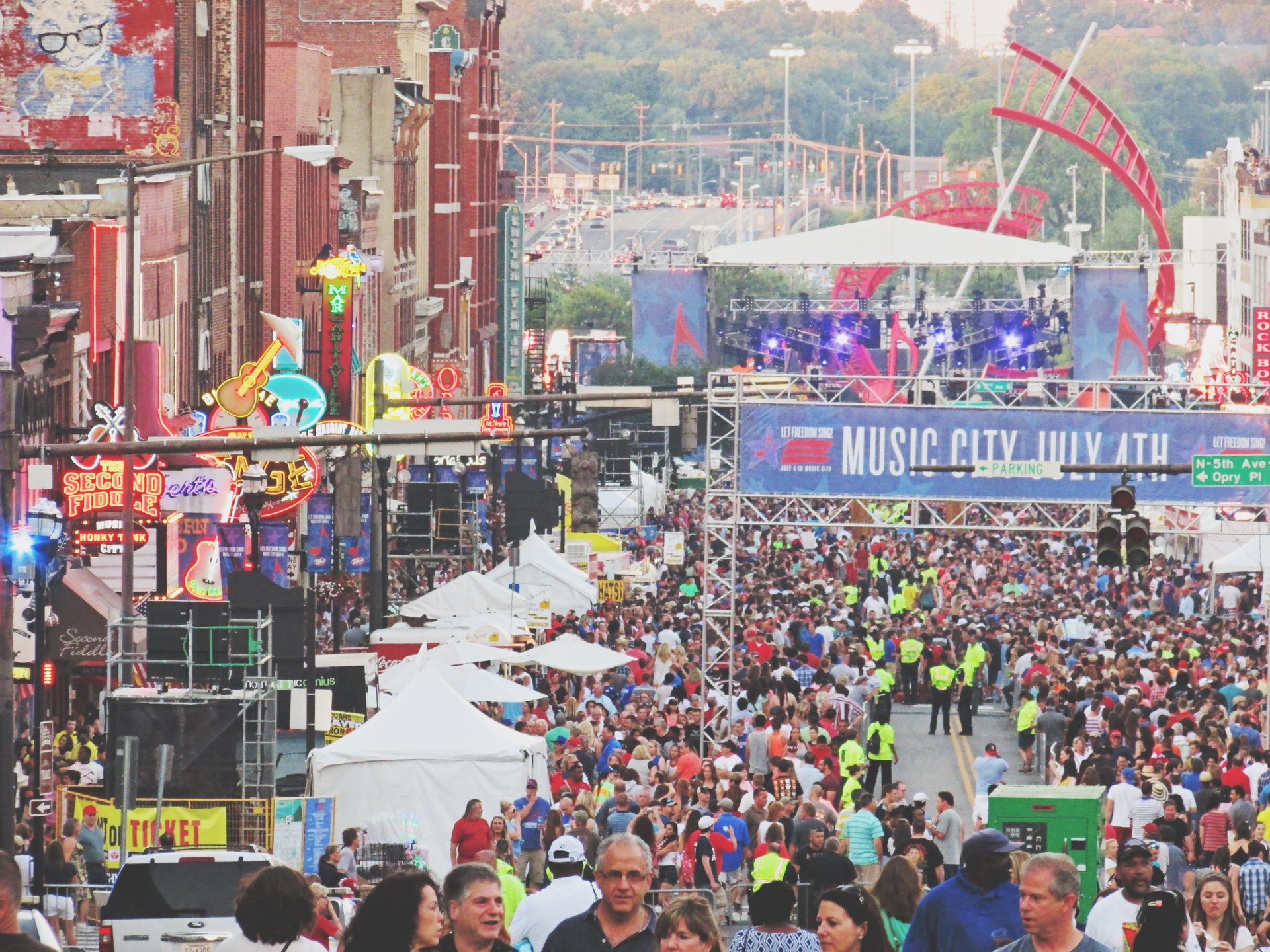Independence Day festivities on Broadway 2020