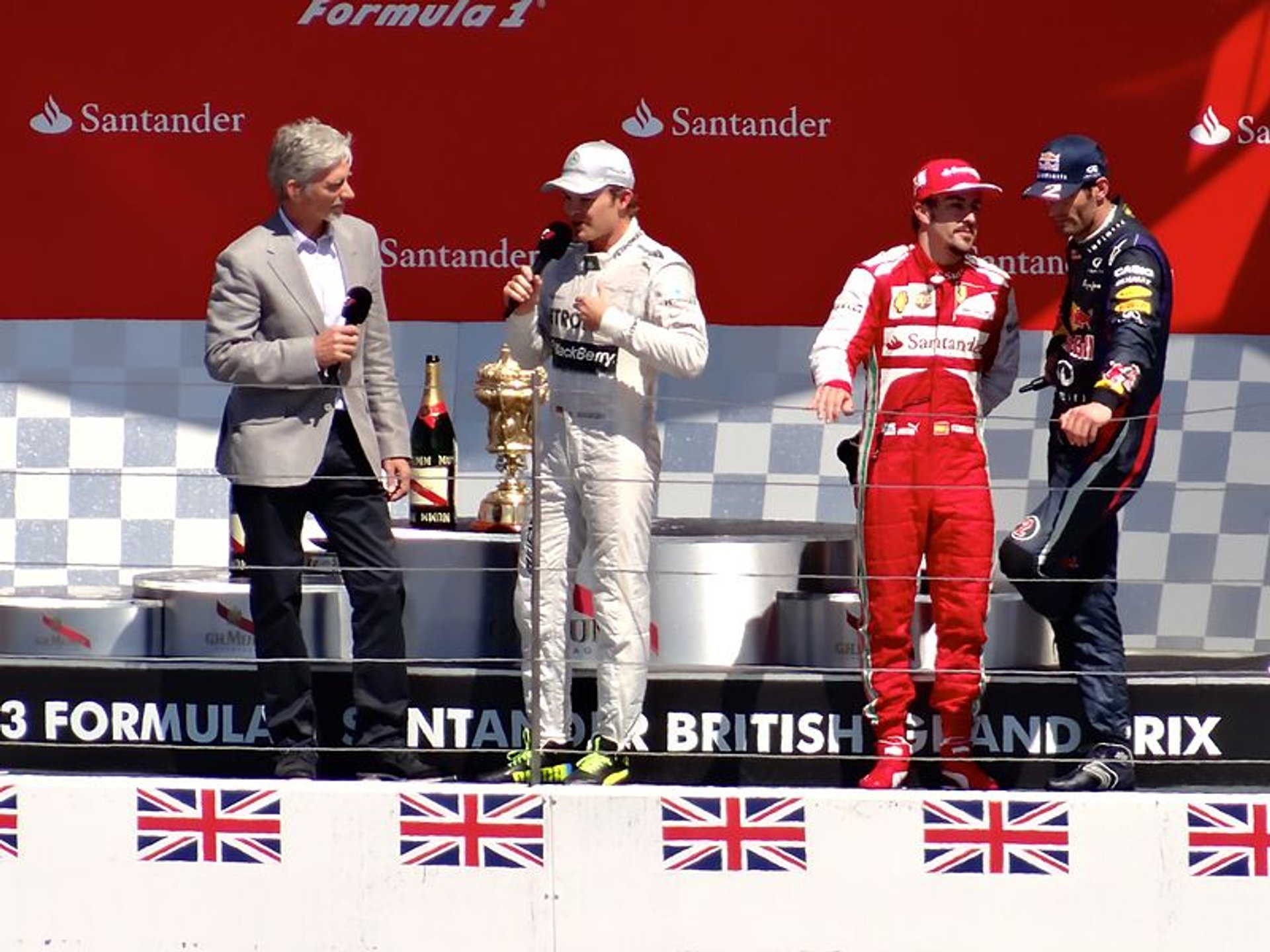 Best time for British Grand Prix in England 2019